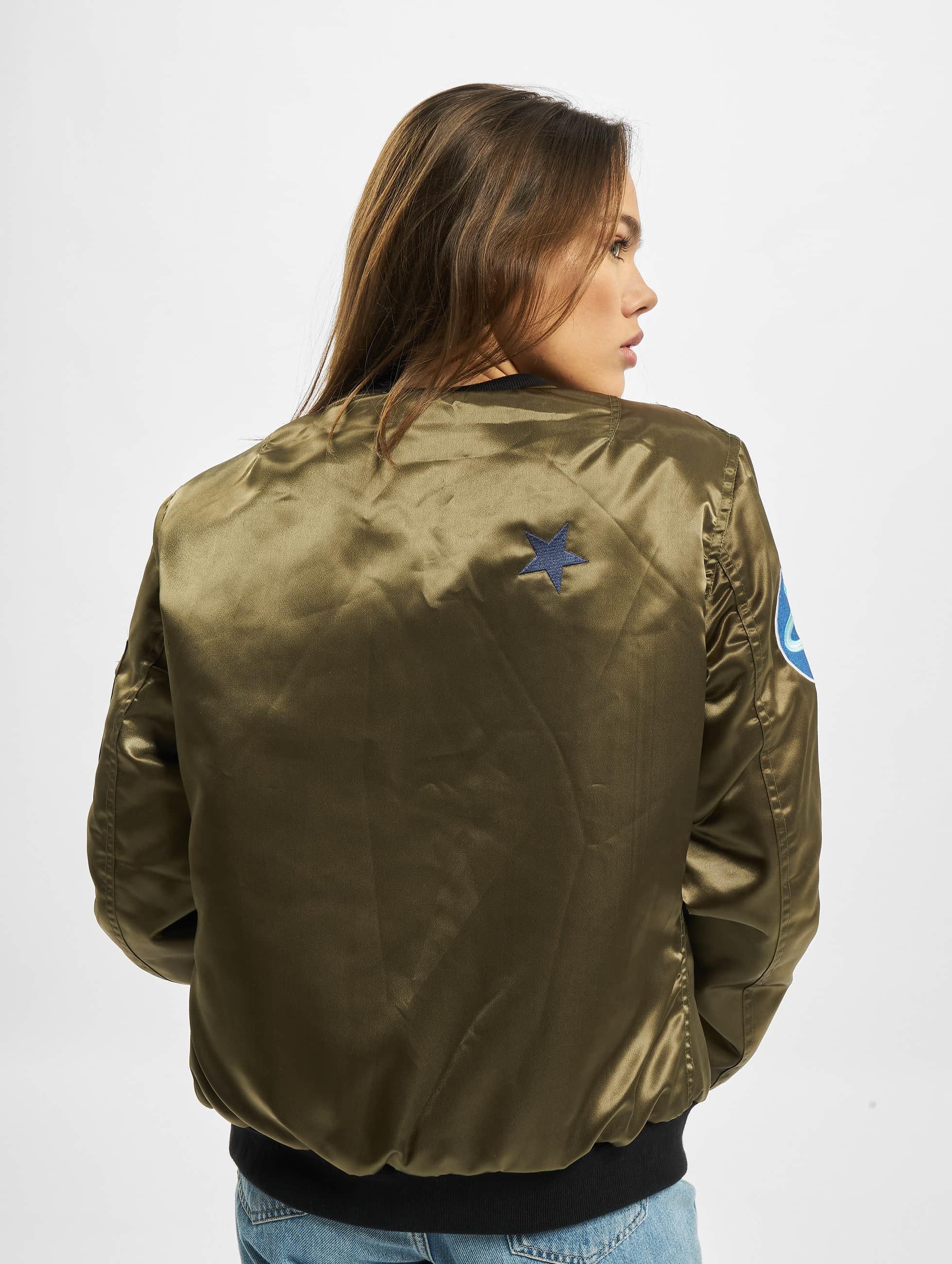 DEF Bomberová bunda Wow! olivová