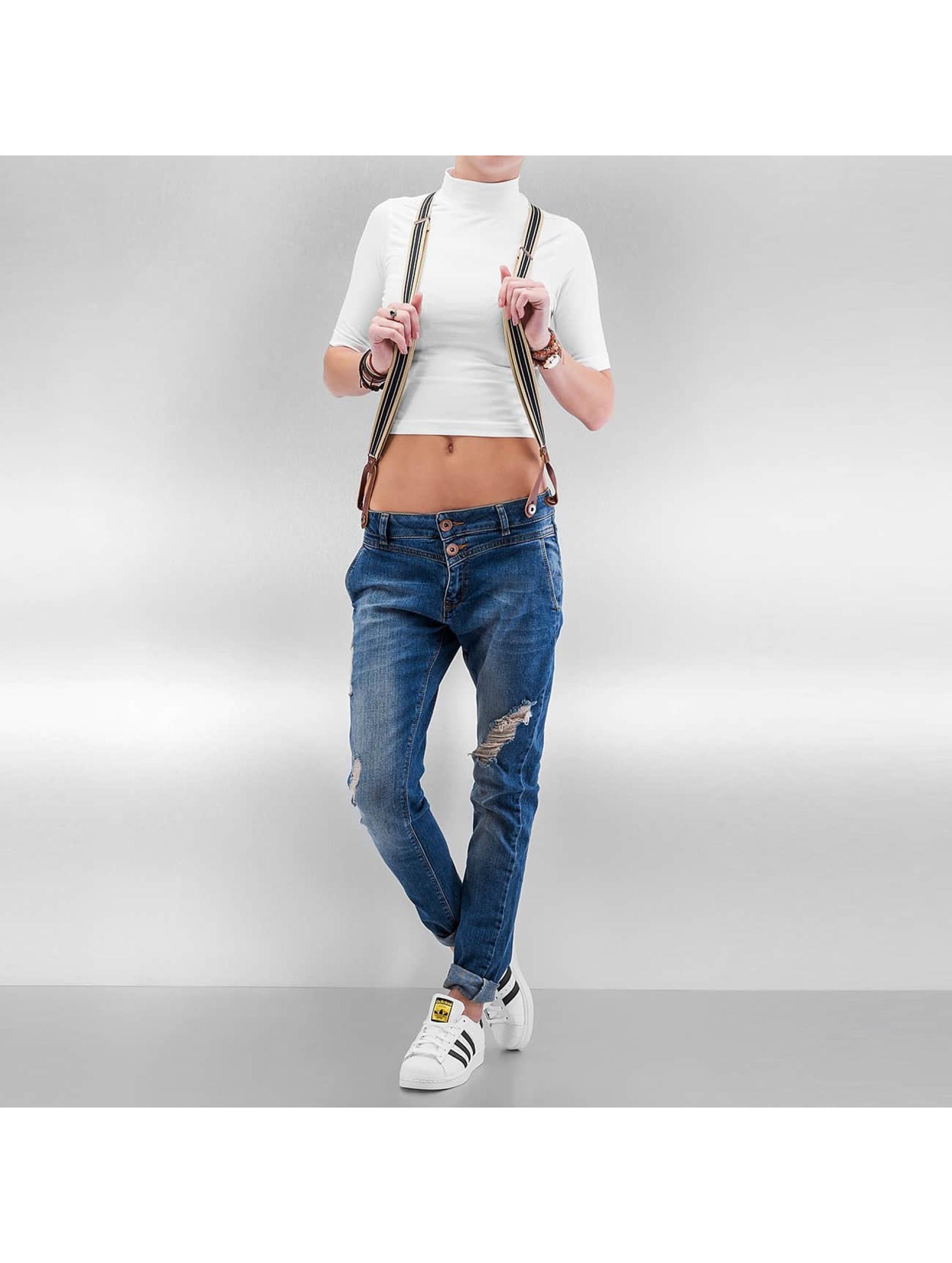 DEF Boyfriend jeans Suspenders blauw