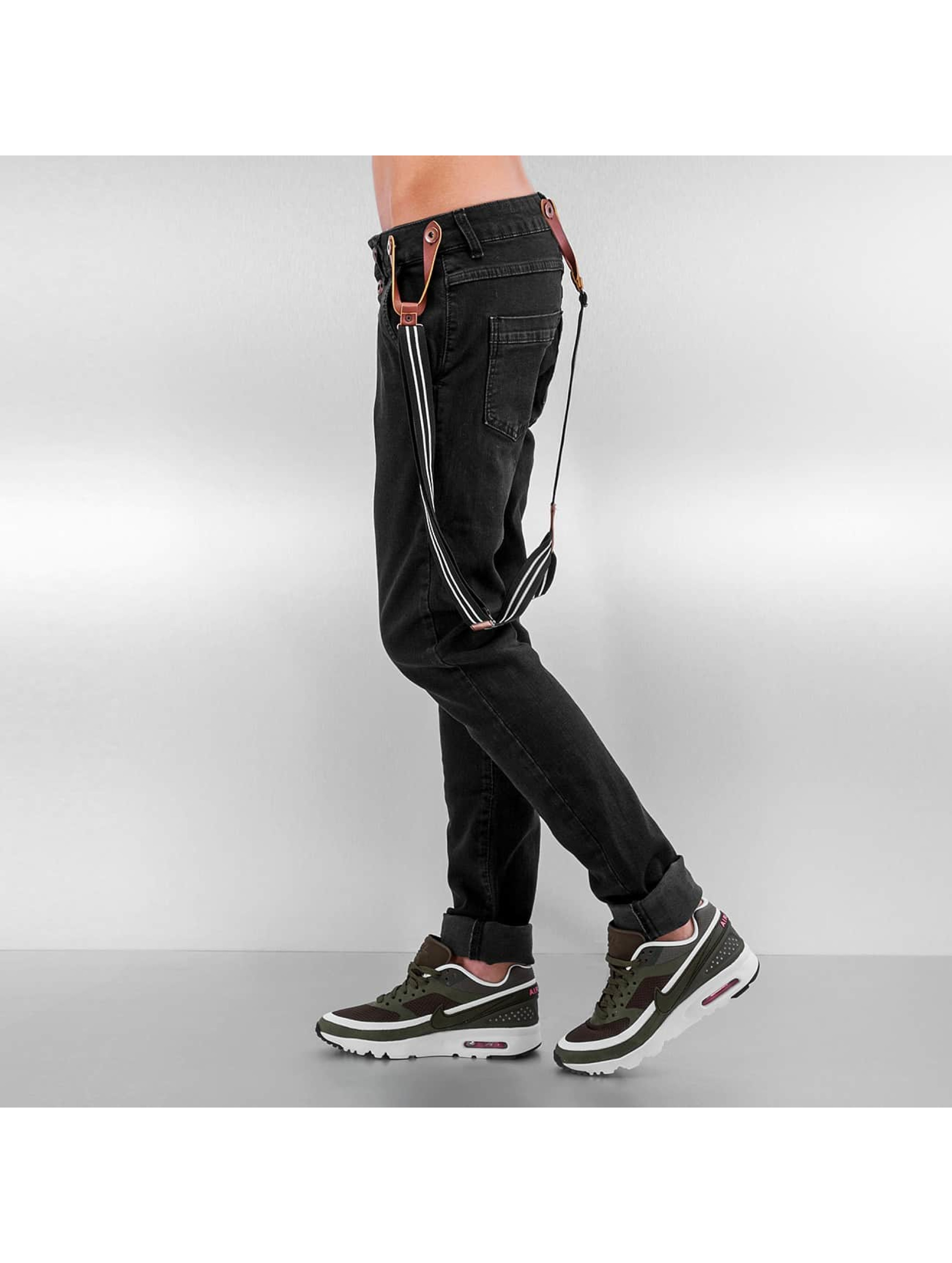 DEF Boyfriend Suspenders II schwarz