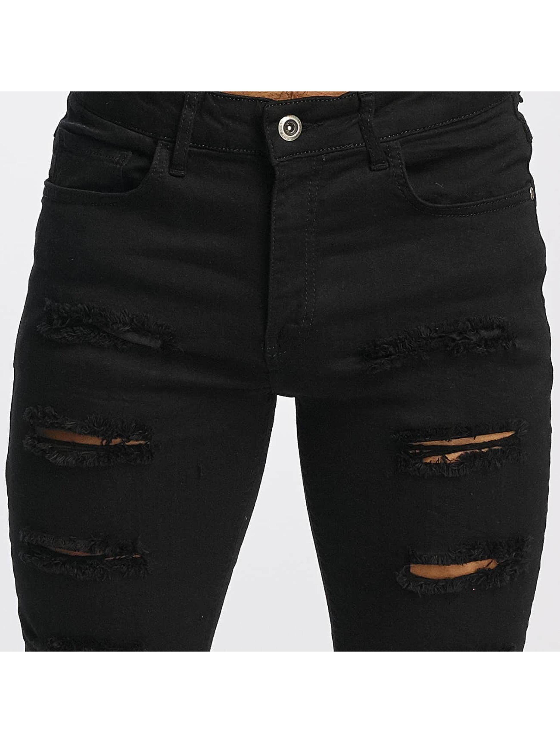 DEF dżinsy przylegające Max czarny