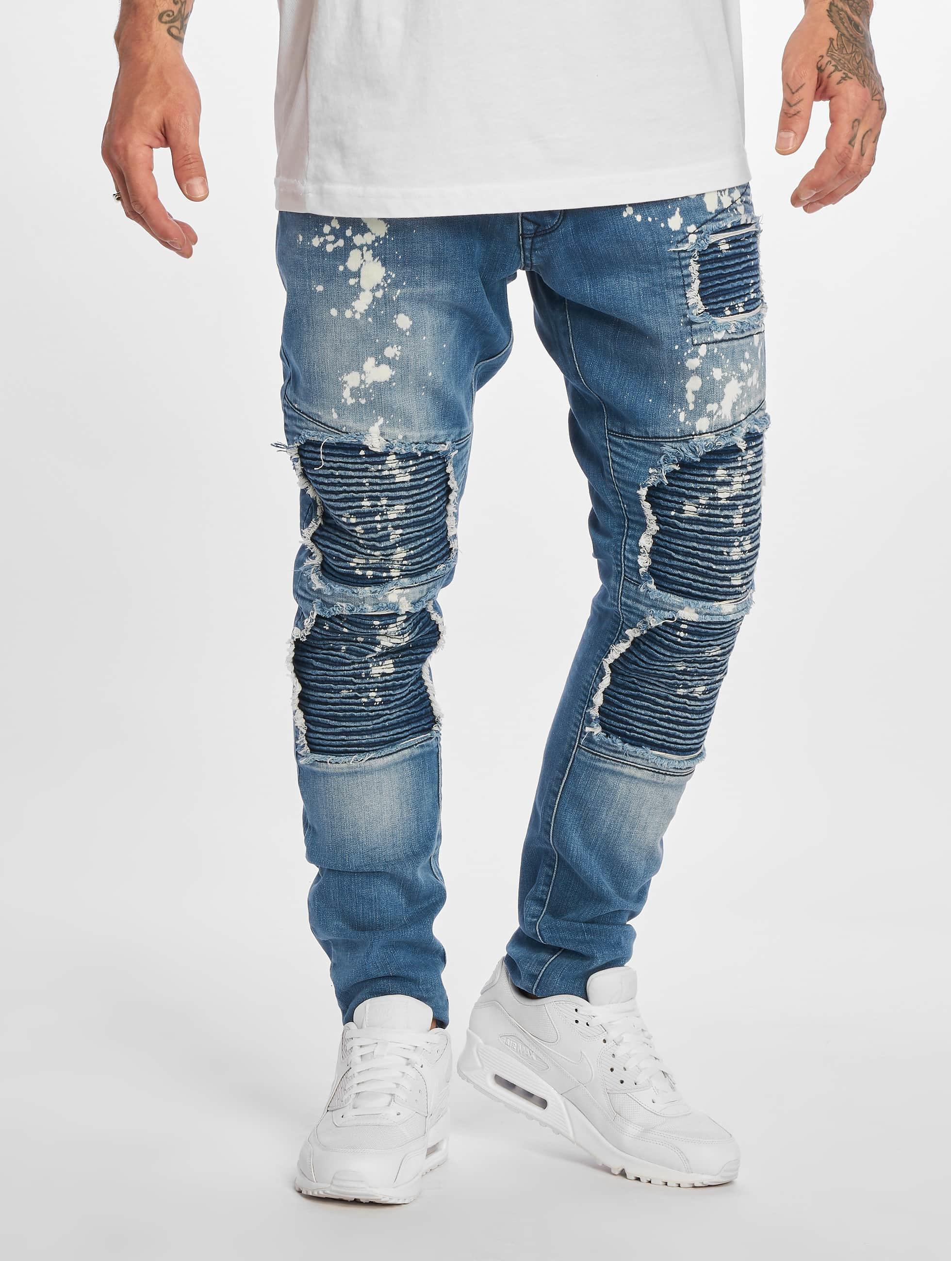 DEF Dżinsy straight fit Straight niebieski