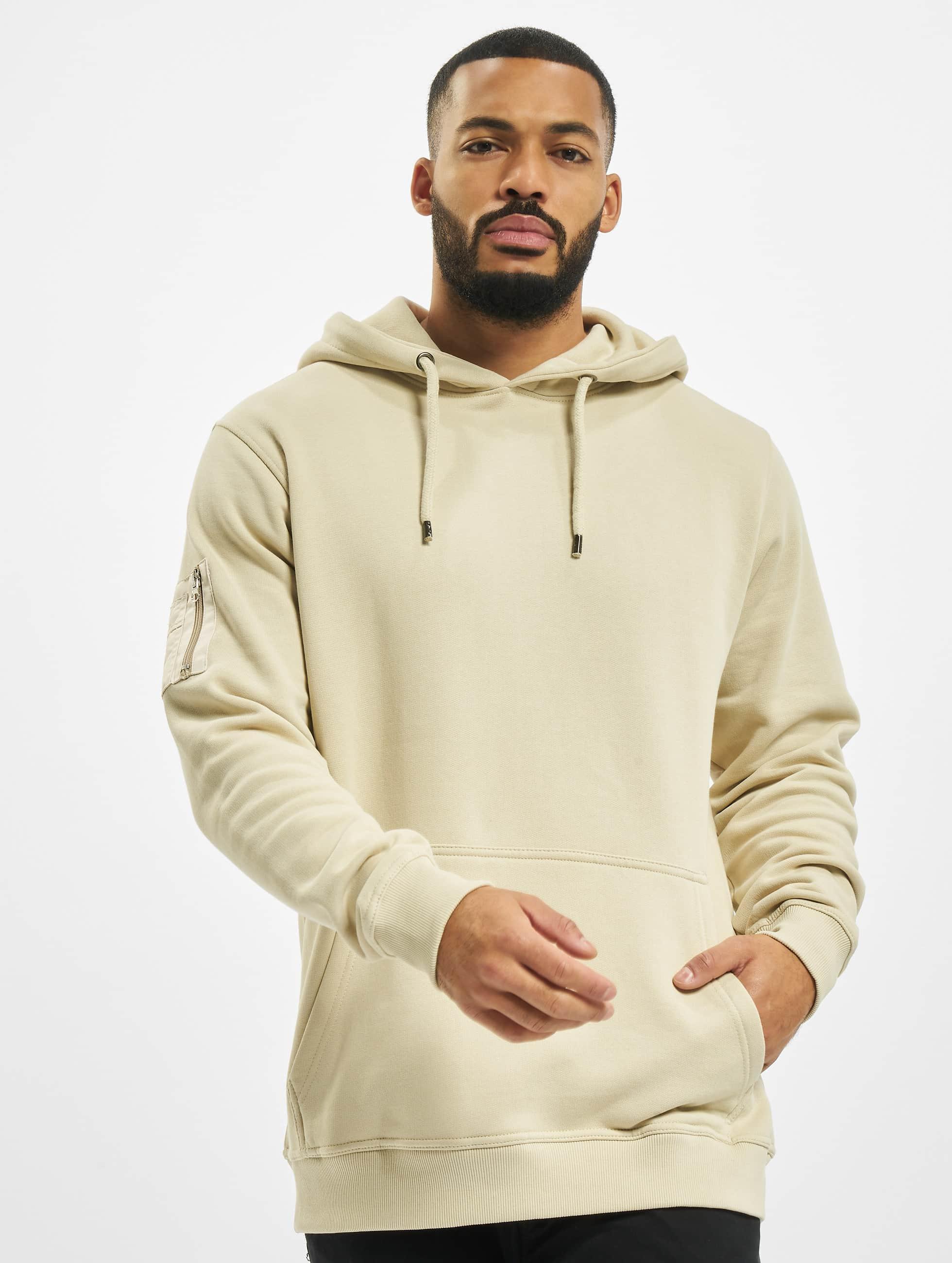 Hoody Upper Arm Pocket in beige