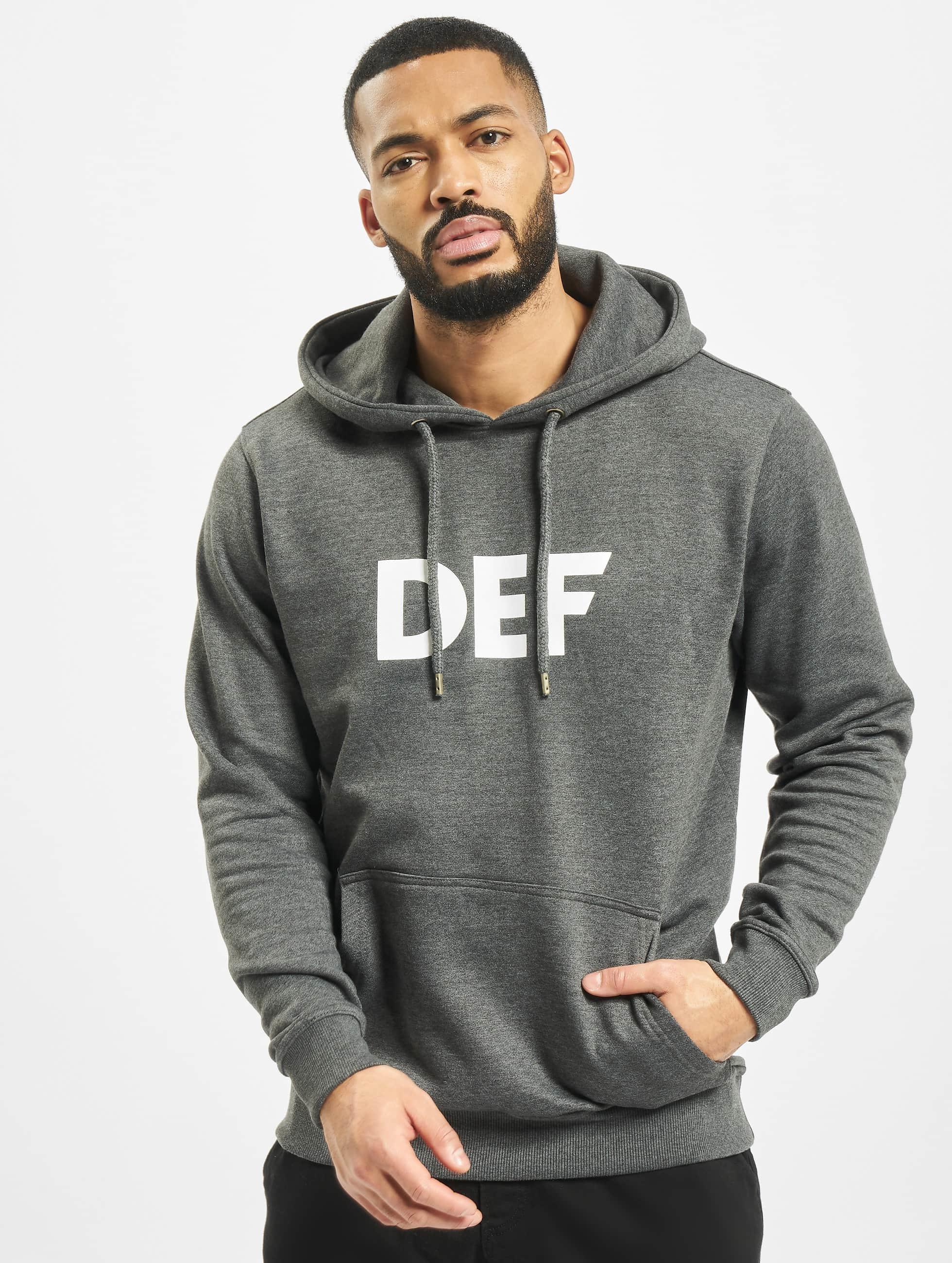 DEF Hoody Til Death grau