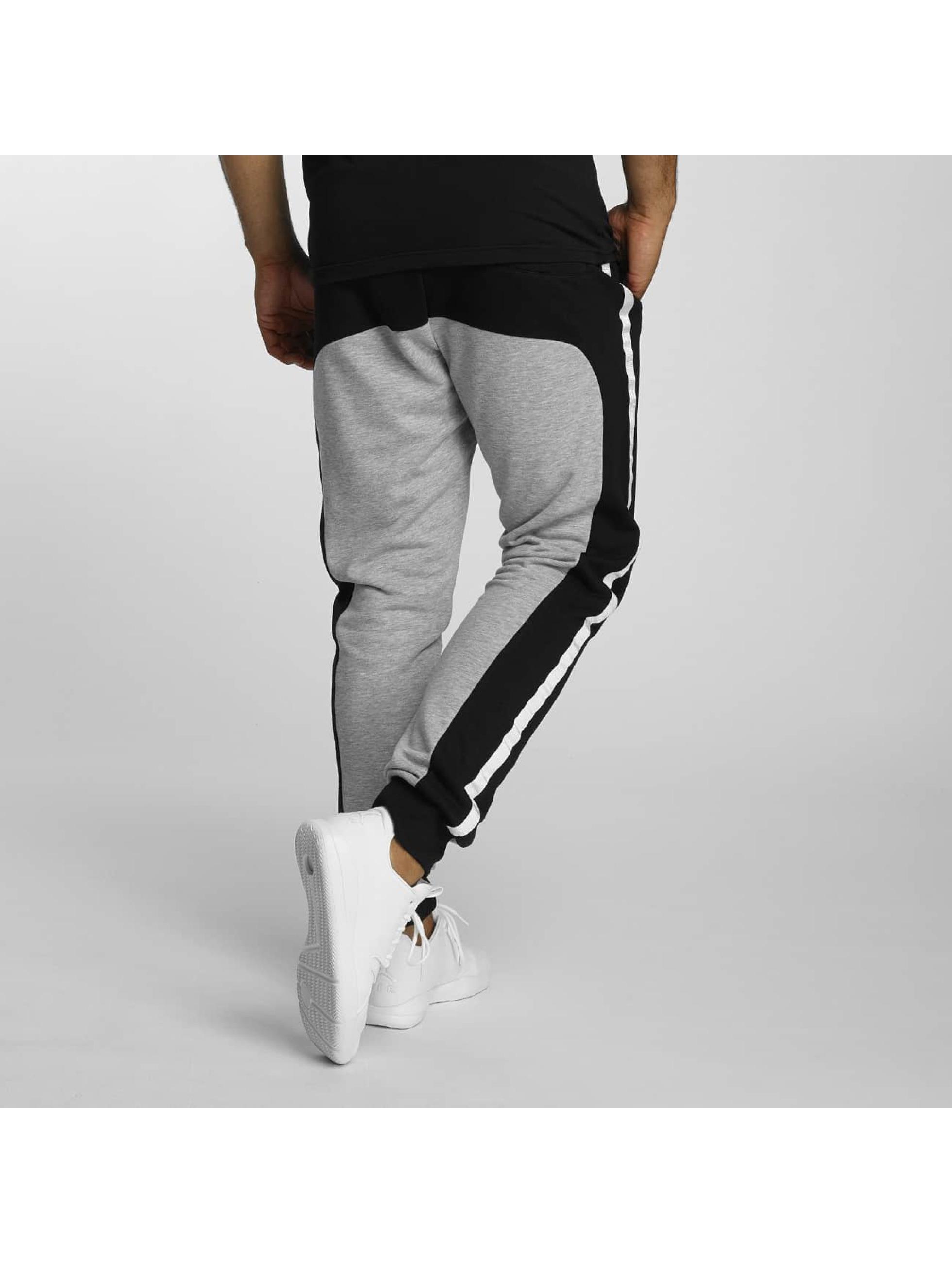 DEF Joggebukser Contrast grå