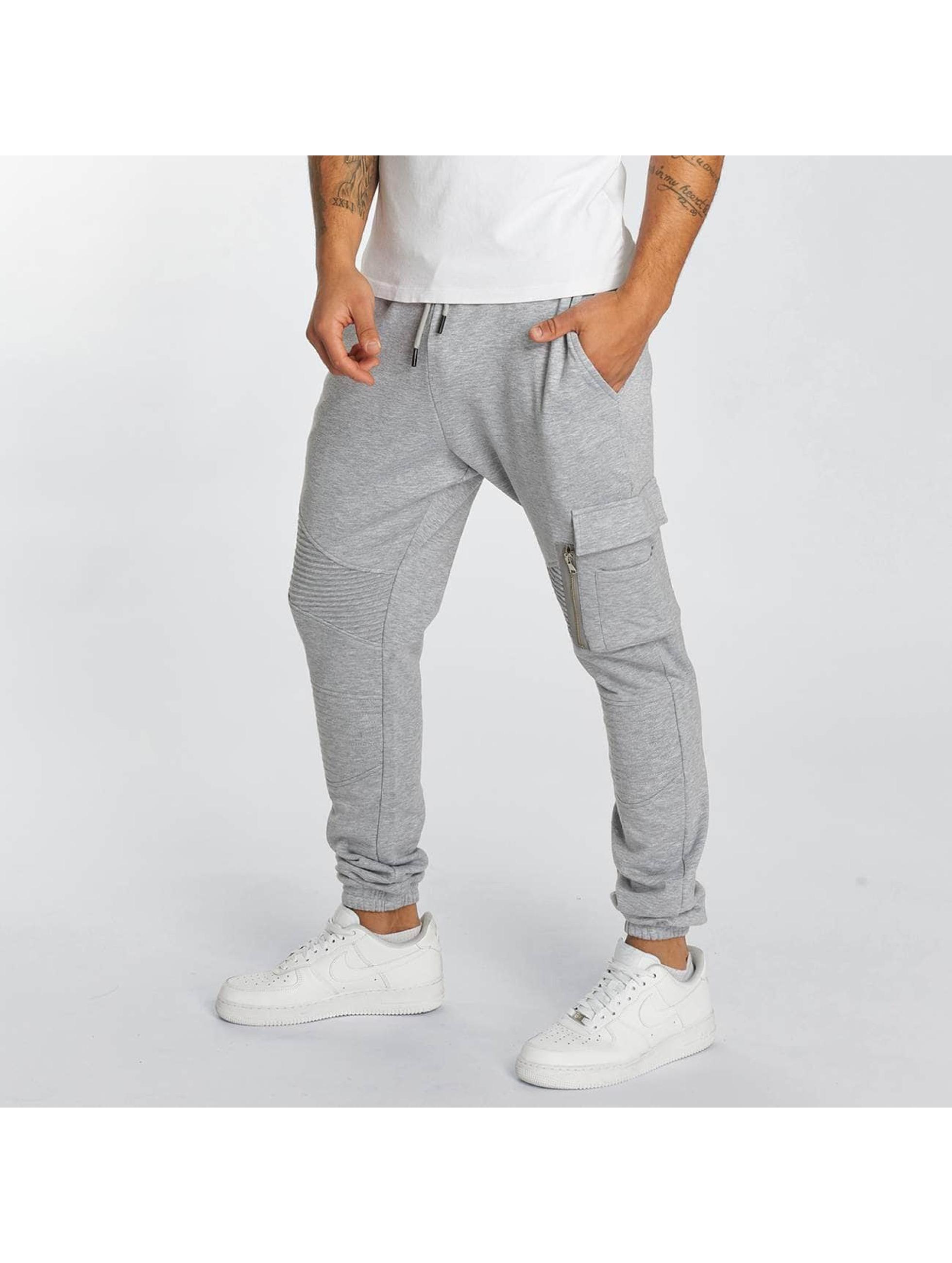 DEF Joggebukser Frame grå