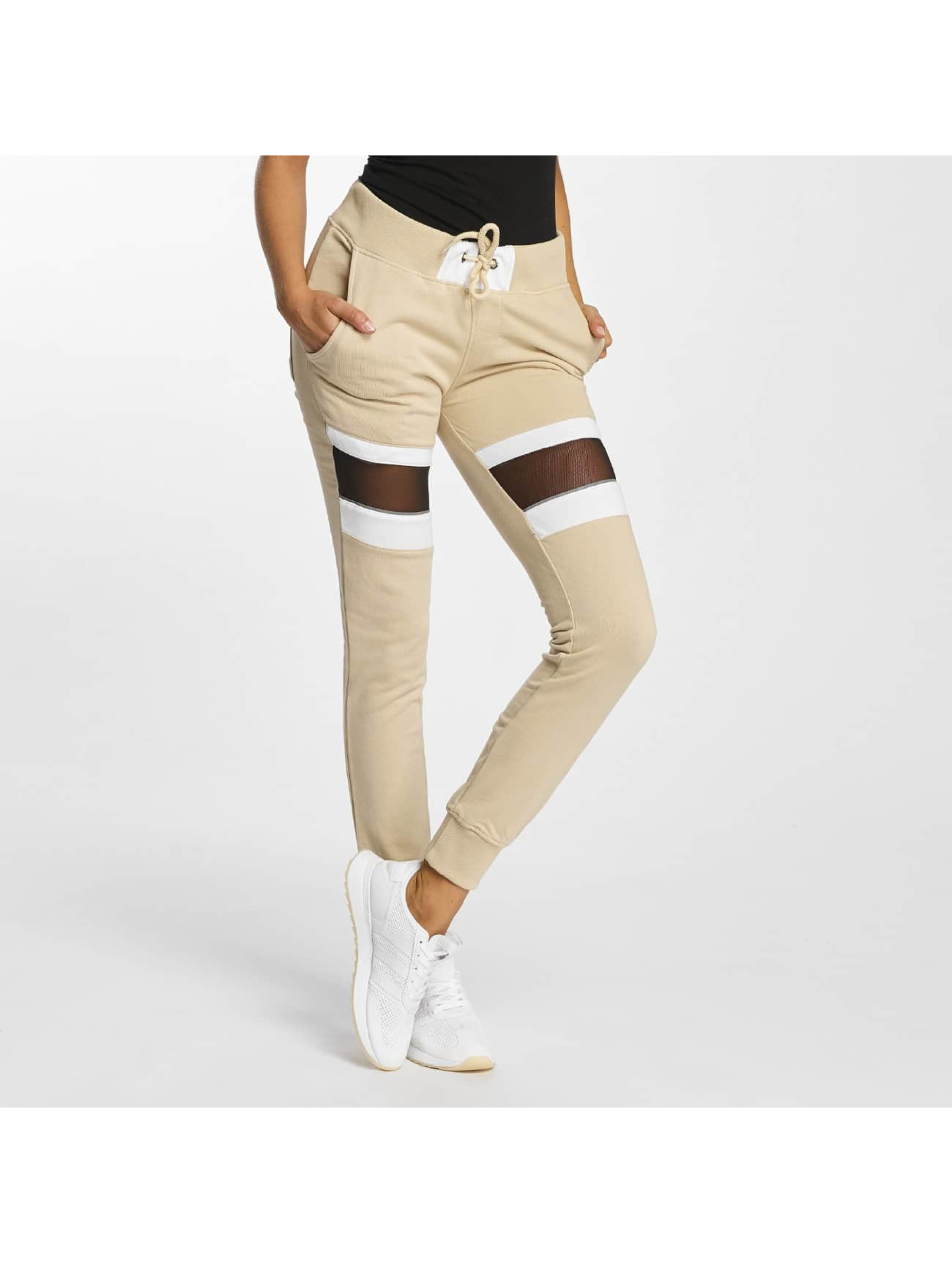 Jogginghose Selina in beige
