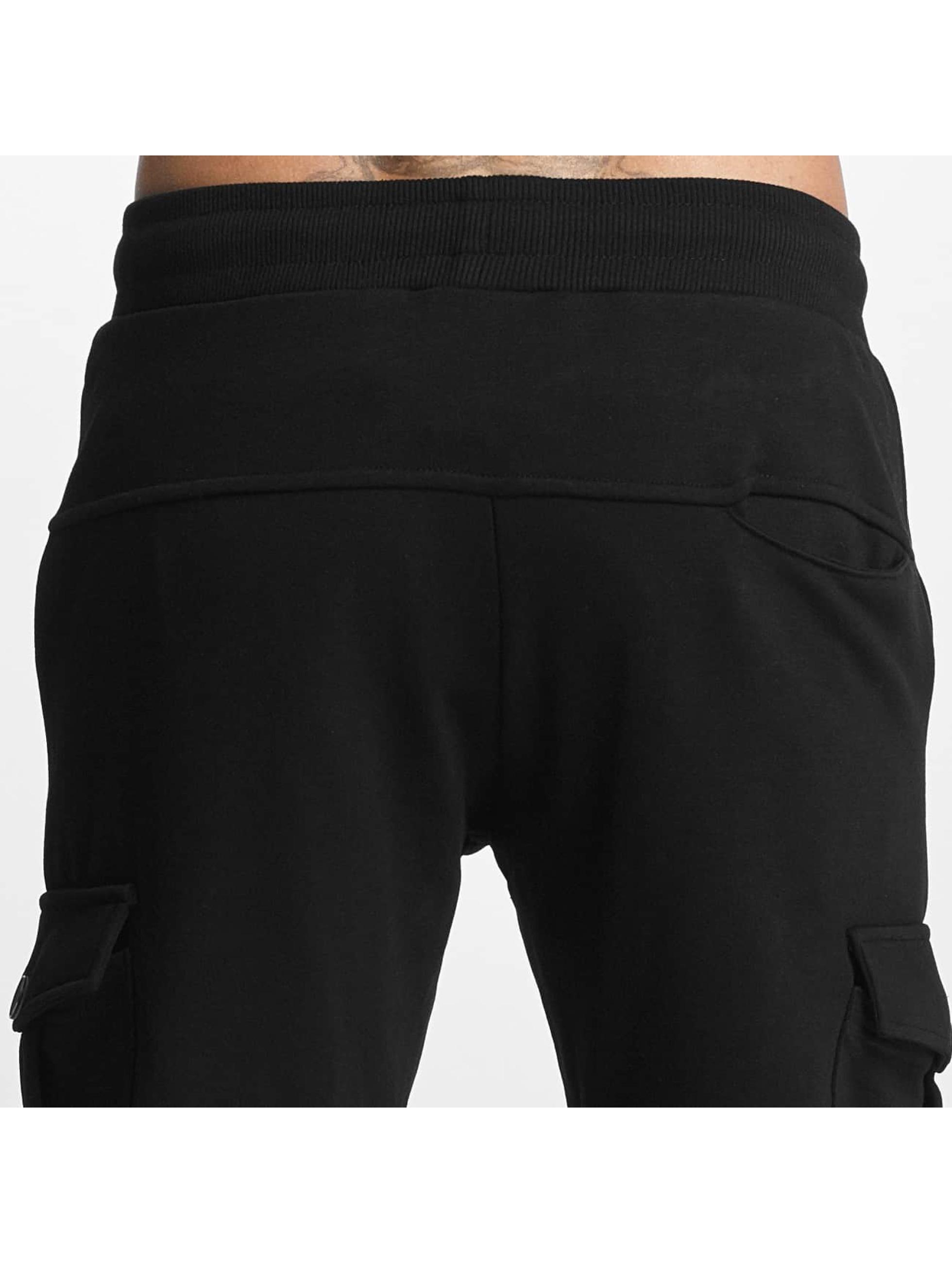 DEF Jogginghose Soft Cargo schwarz