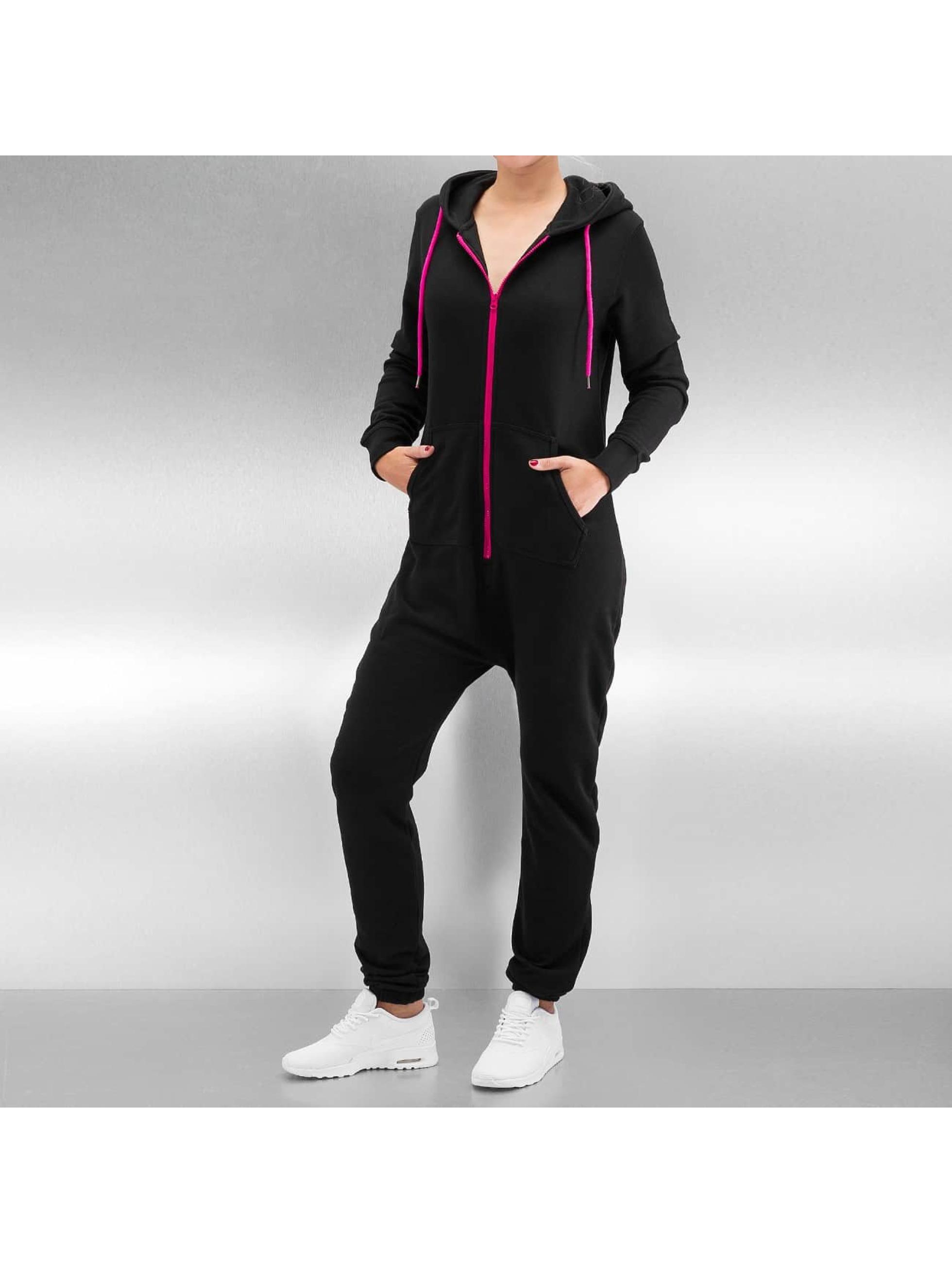 DEF jumpsuit Basic zwart