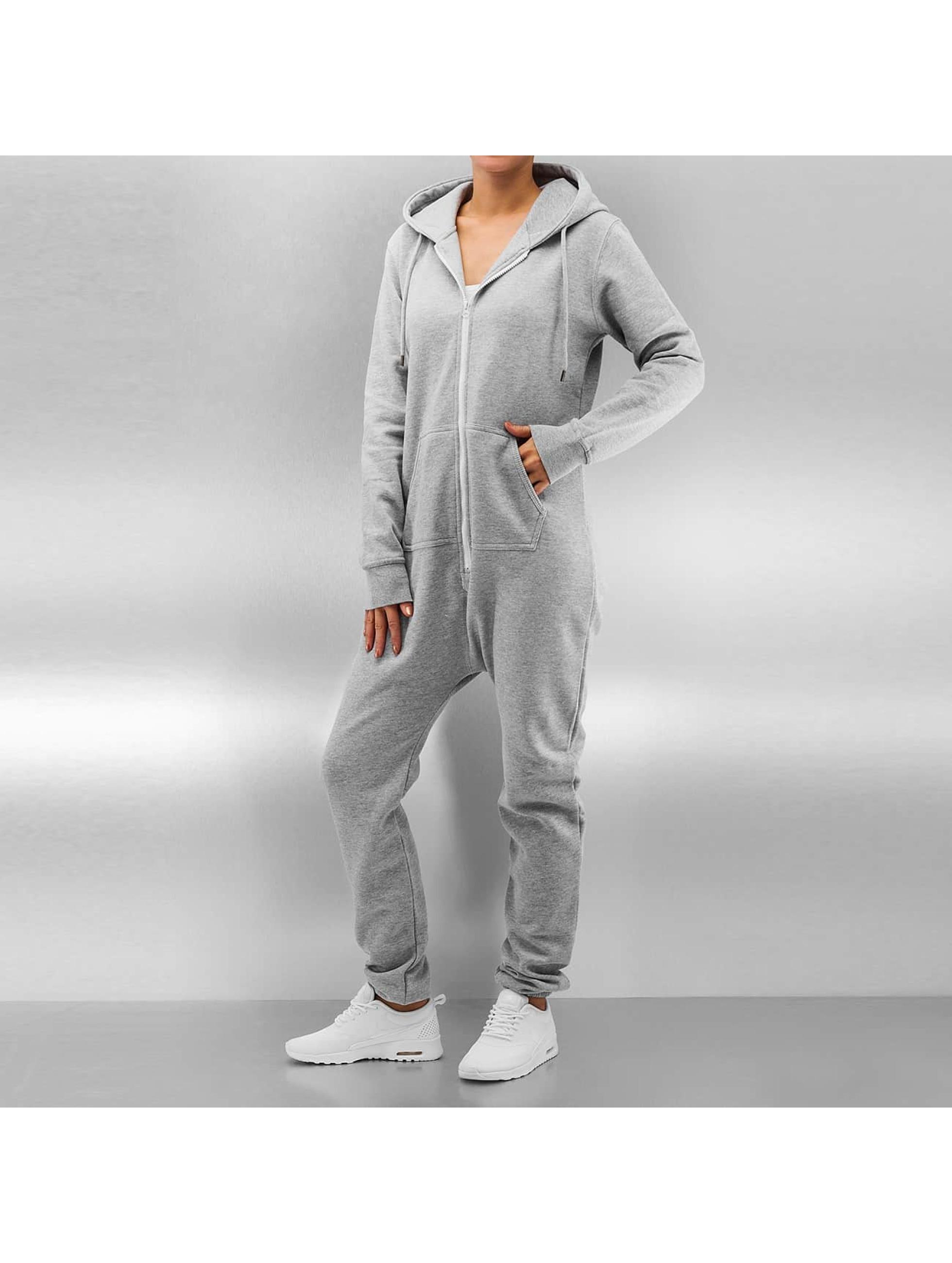 DEF Jumpsuits Basic grå