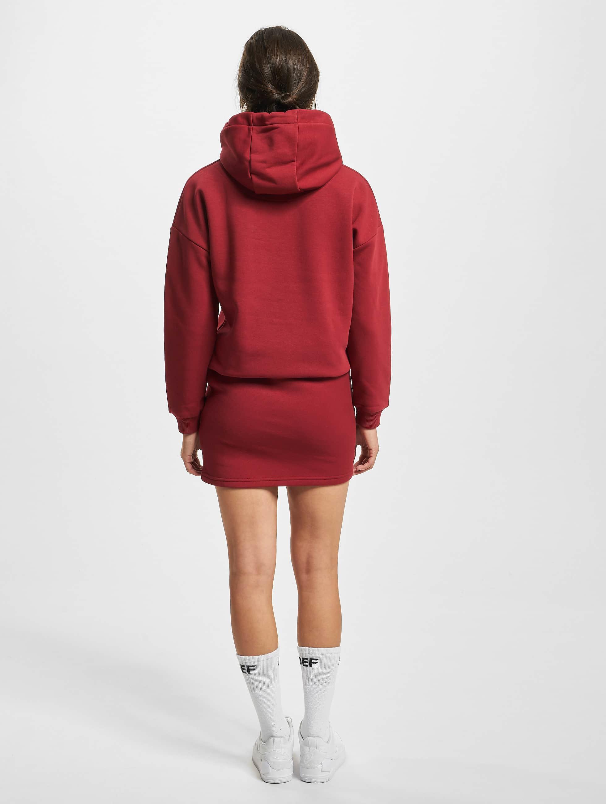 DEF Kleid Cropped rot