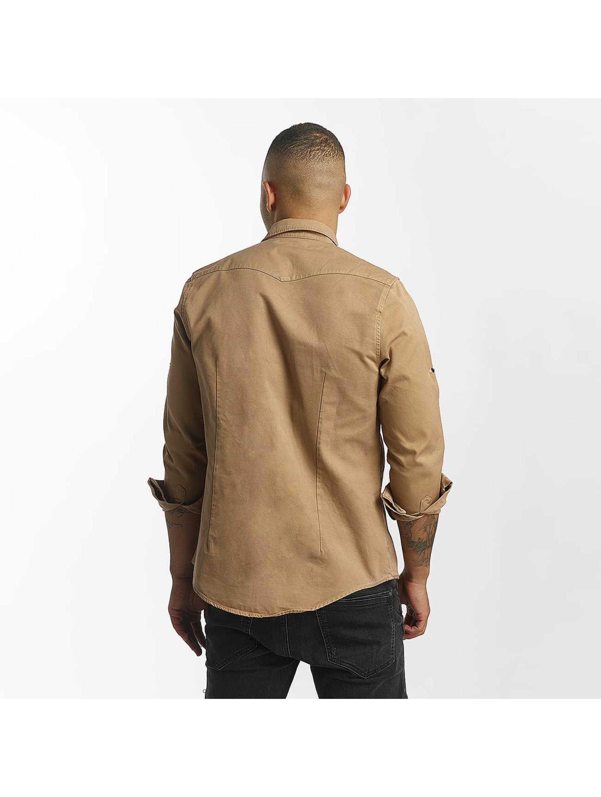 DEF overhemd Merthein beige