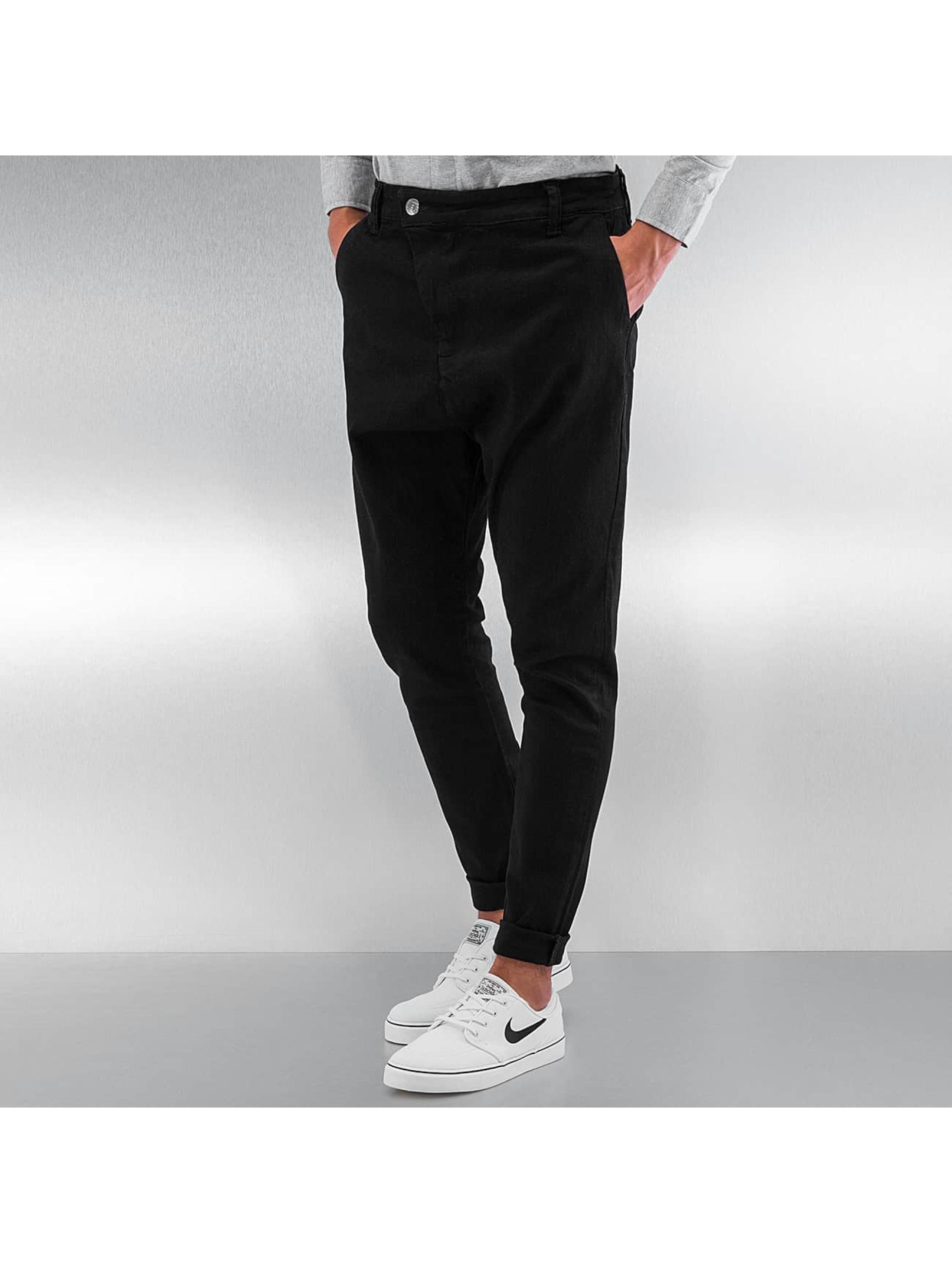 def antifit noir homme pantalon chino 296873. Black Bedroom Furniture Sets. Home Design Ideas