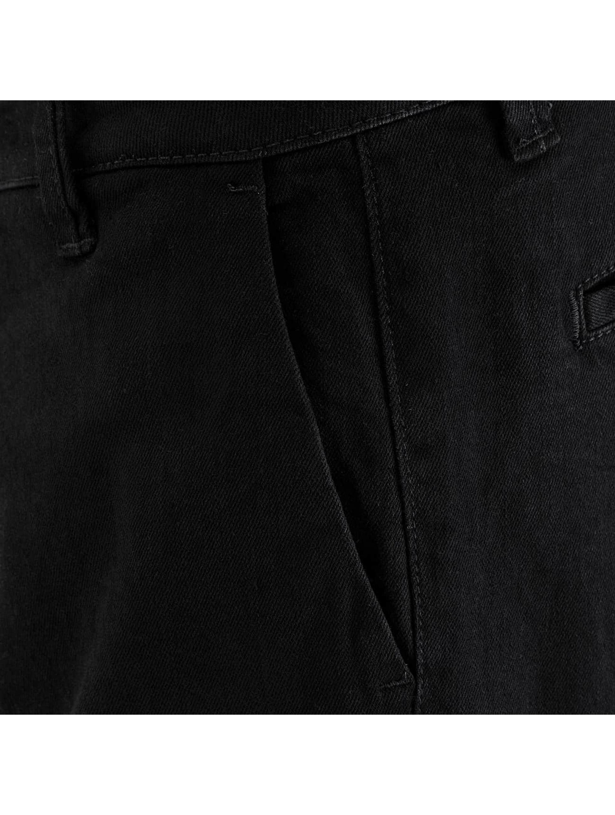 DEF Pantalon chino Antifit noir