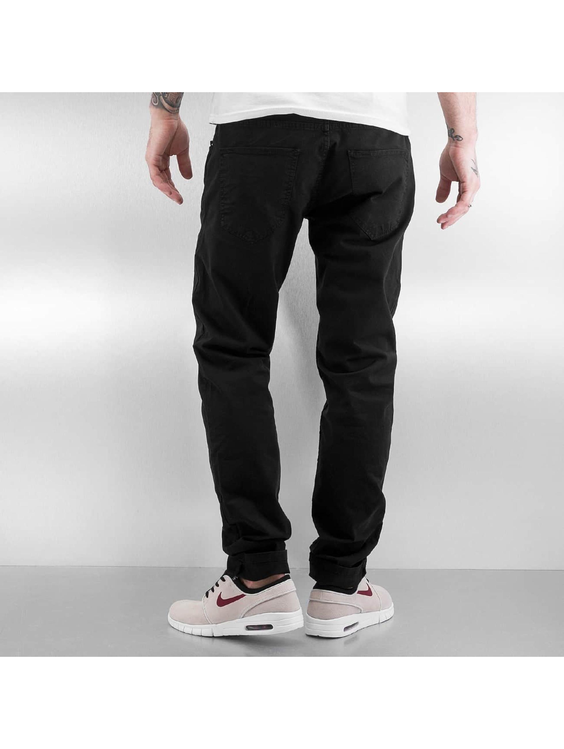 def basic noir homme pantalon chino def acheter pas cher pantalon 301153. Black Bedroom Furniture Sets. Home Design Ideas