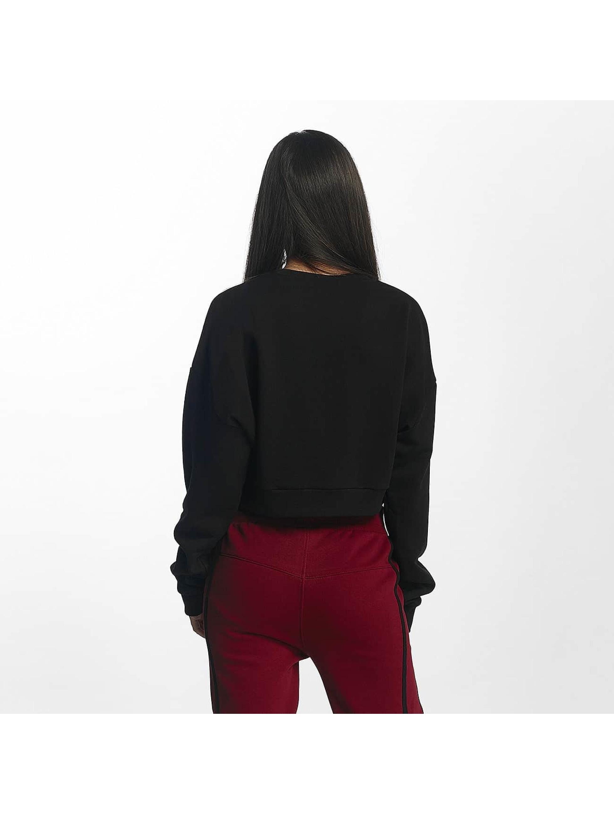 DEF Pullover Belly schwarz