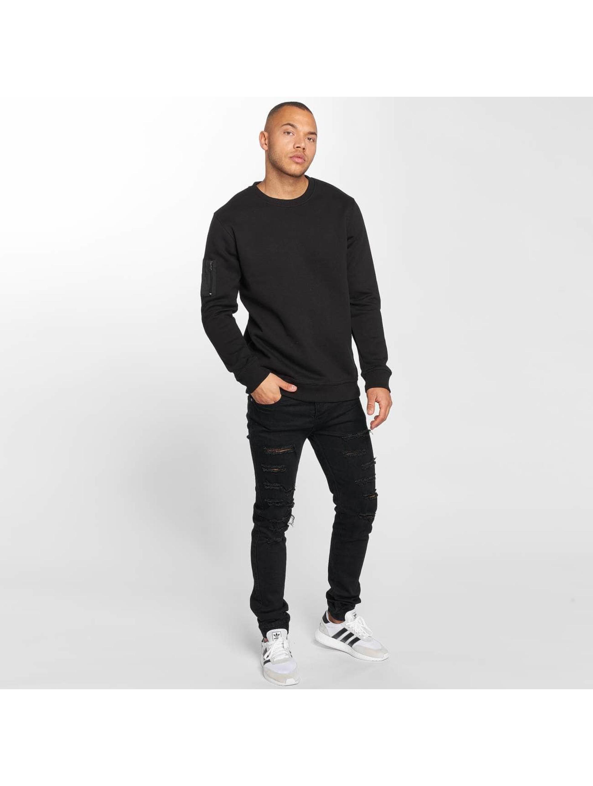 DEF Pullover Sirp schwarz