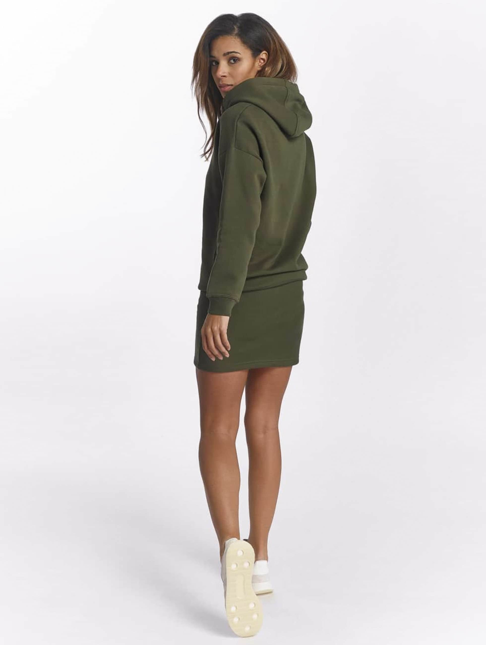 DEF Robe Cropped olive