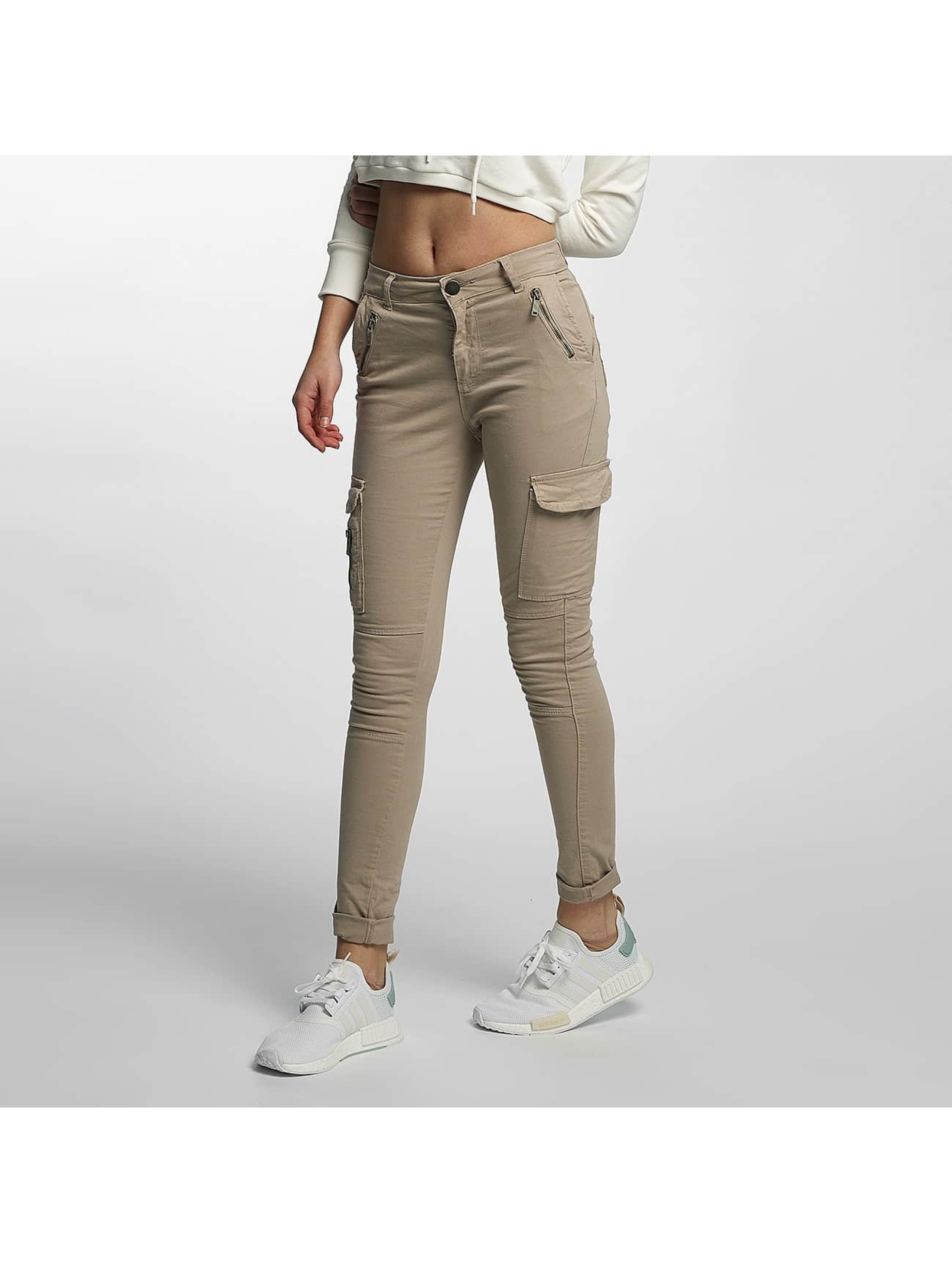 def damen skinny jeans luisa in beige 349446. Black Bedroom Furniture Sets. Home Design Ideas