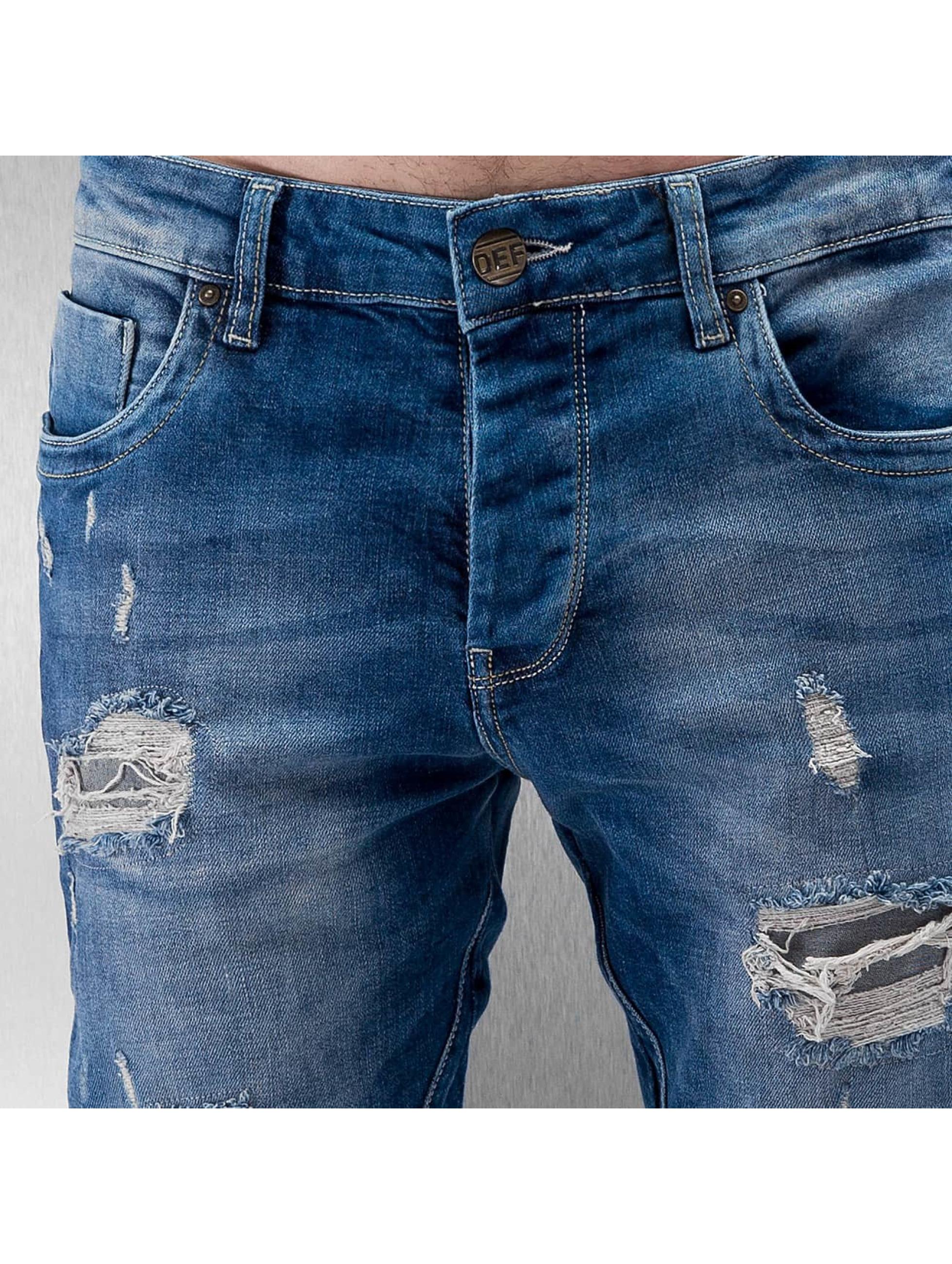 DEF Skinny Jeans Egino blau