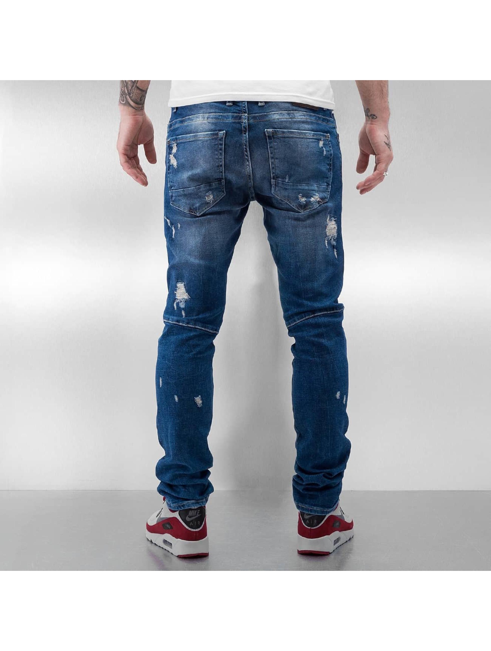 DEF Skinny Jeans Egino niebieski