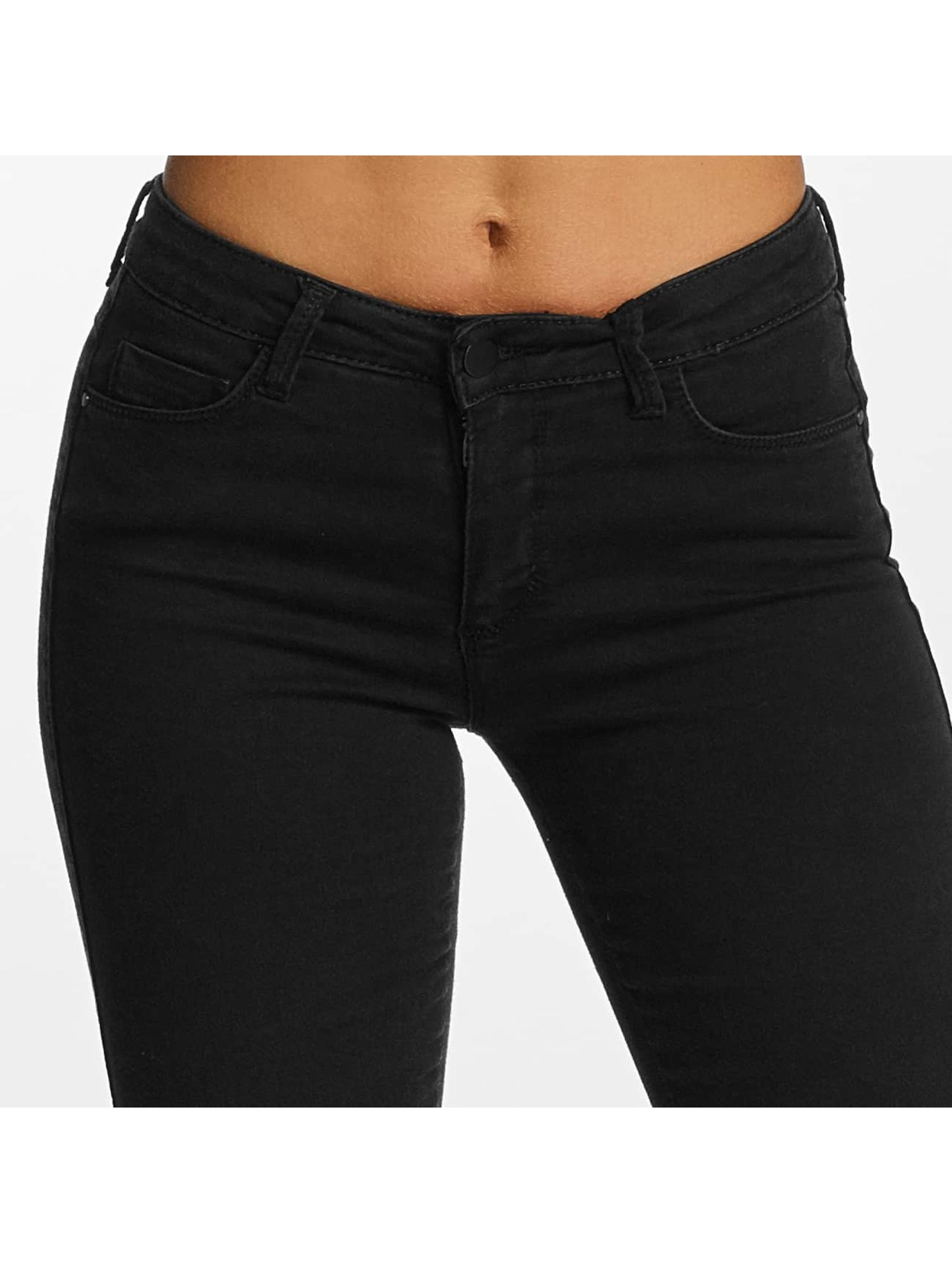 DEF Skinny Jeans Elanie schwarz