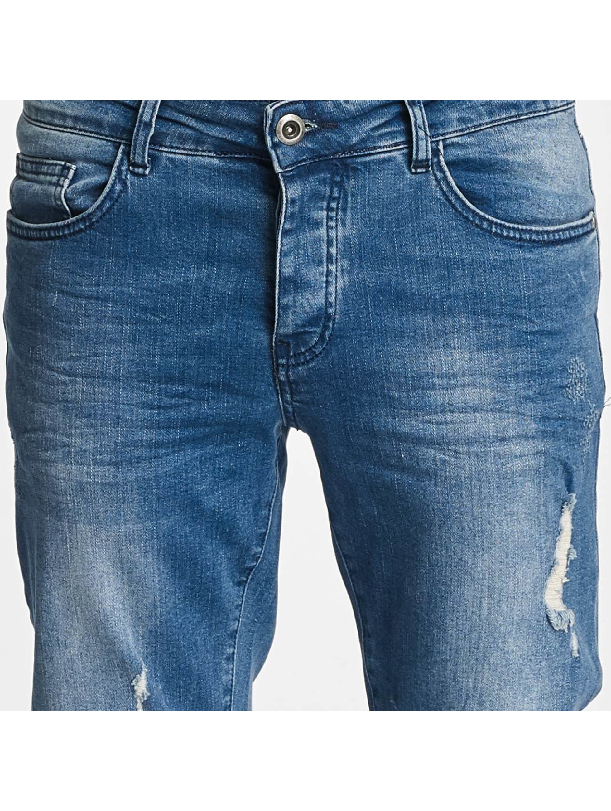 DEF Slim Fit Jeans John blå