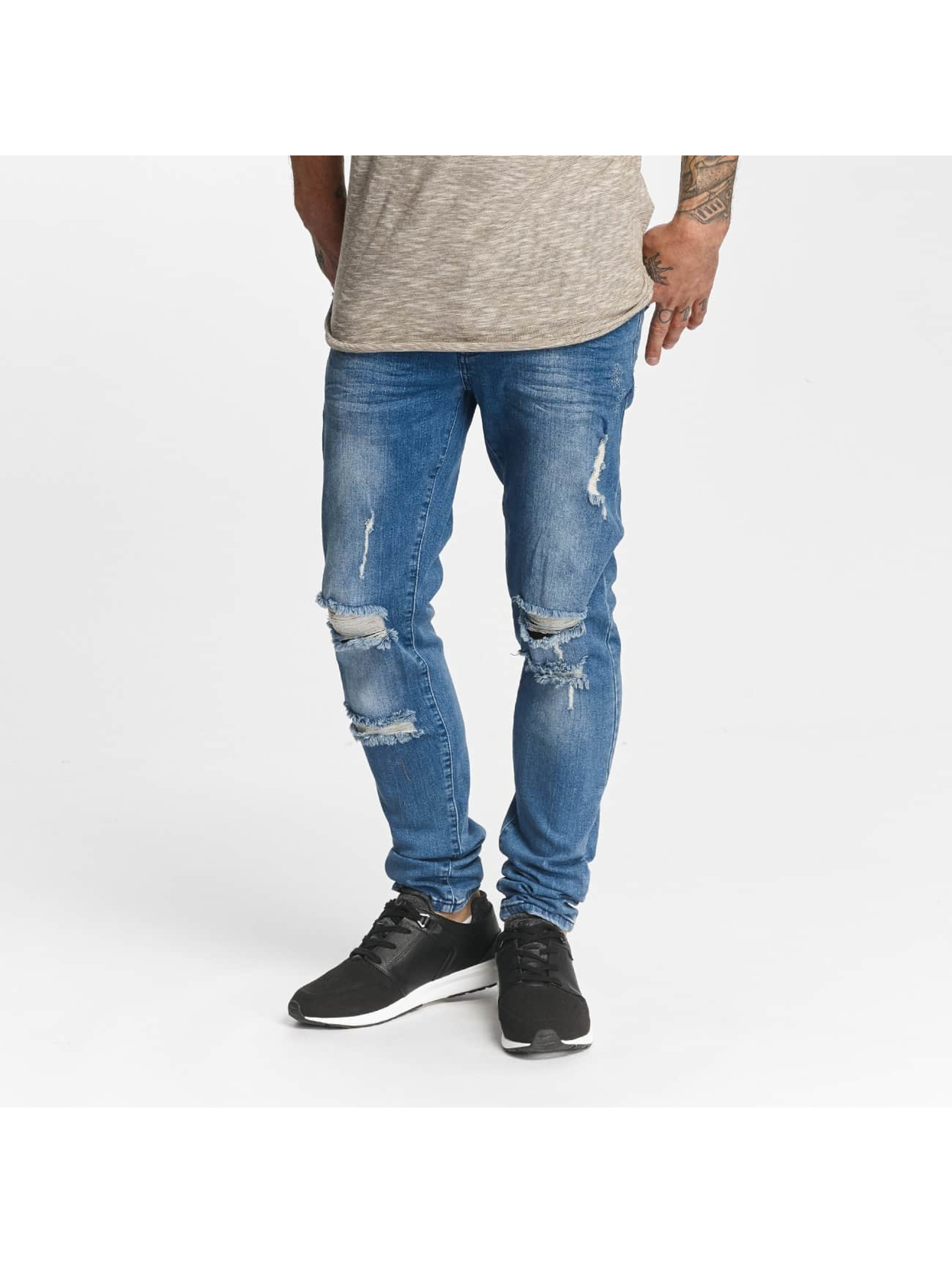 DEF heren slim fit jeans John - blauw