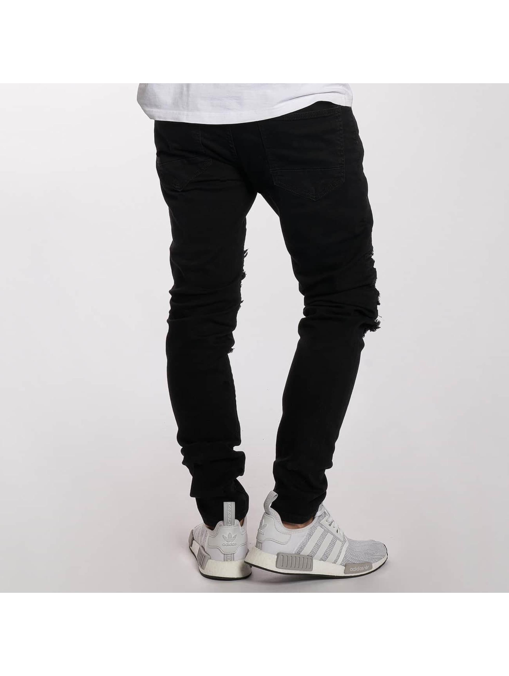 DEF Slim Fit Jeans King svart