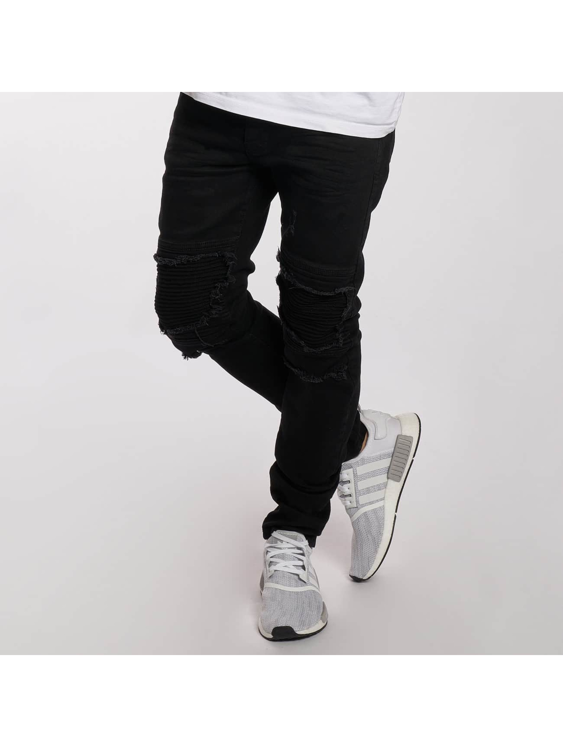 DEF heren slim fit jeans King - zwart