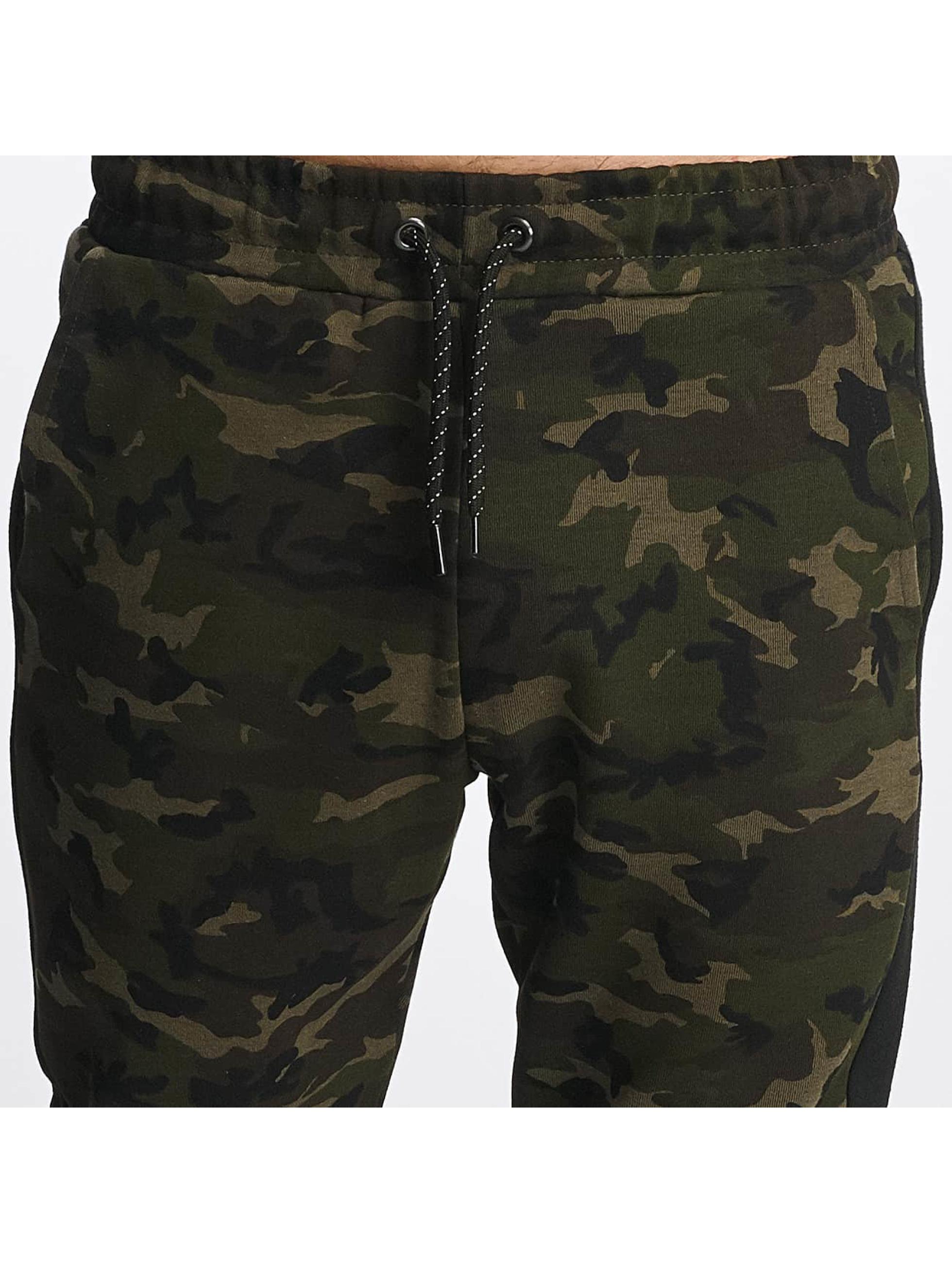 DEF Spodnie do joggingu Cargo moro