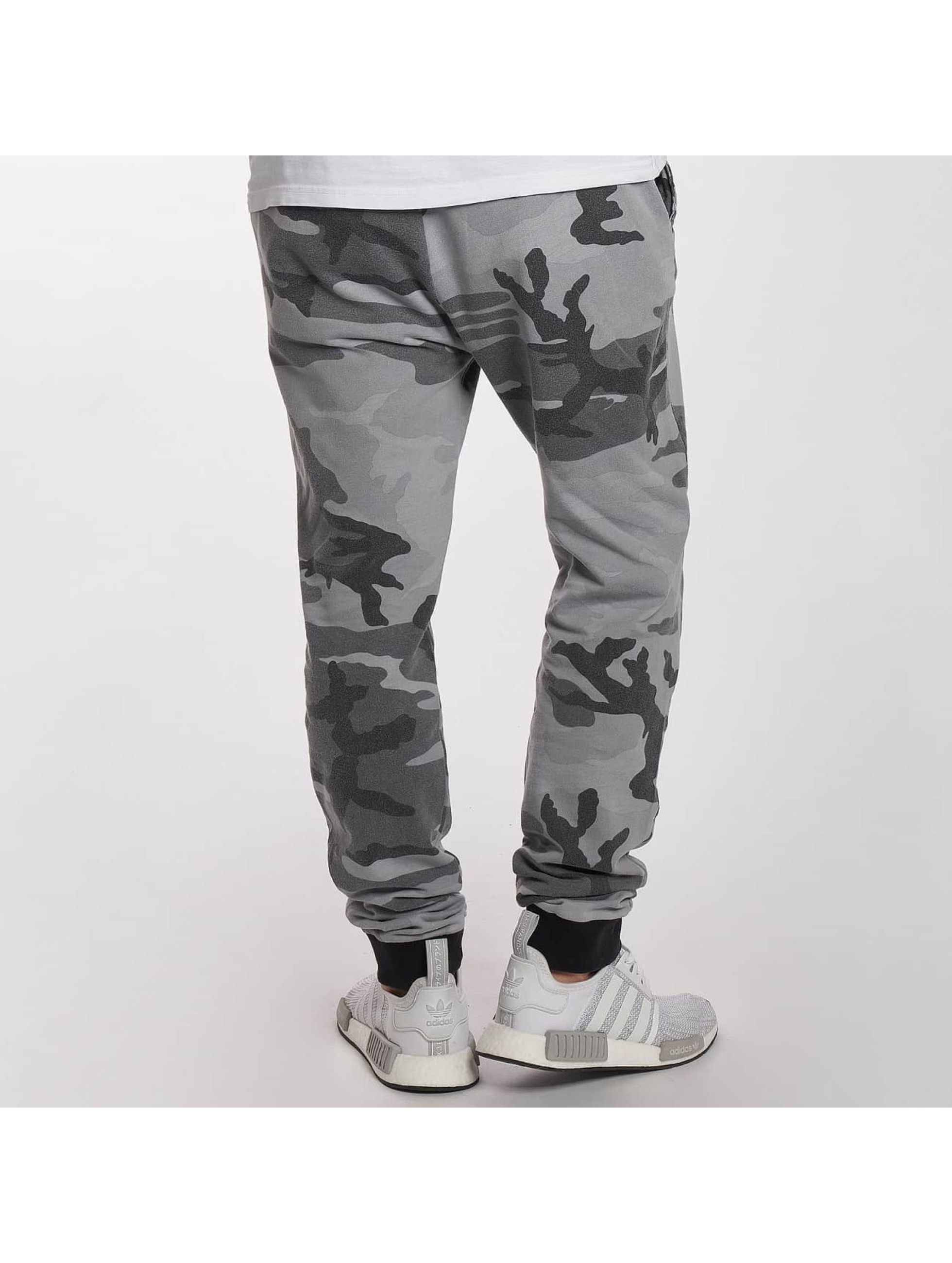 DEF Spodnie do joggingu Camo moro