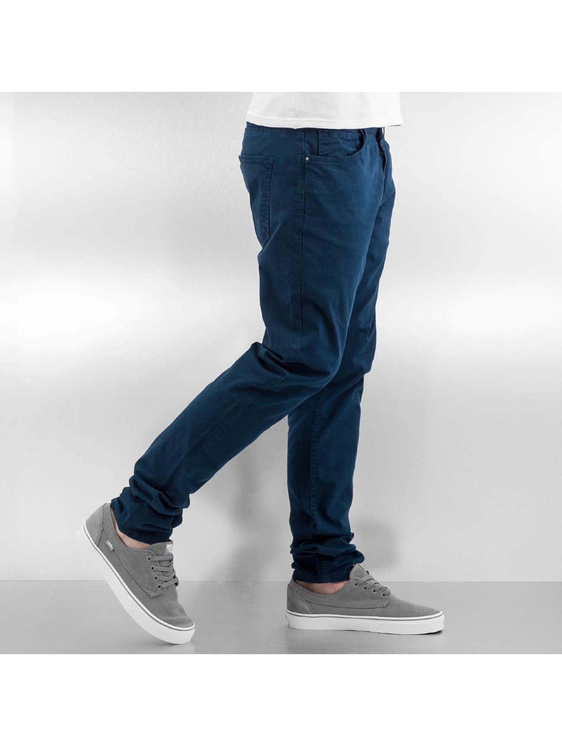 DEF Spodnie wizytowe Basic indygo