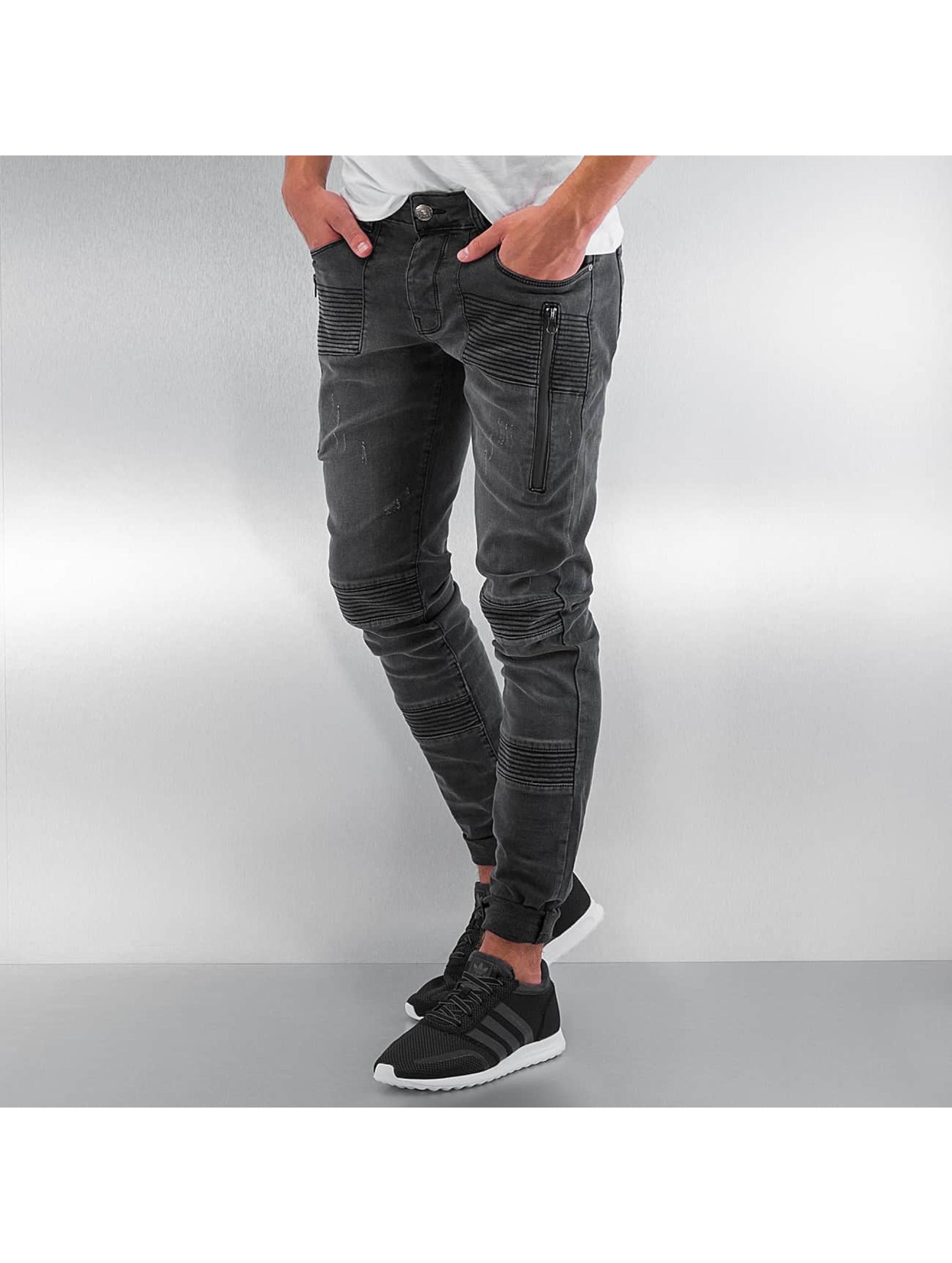 Straight Fit Jeans Berlin in grau