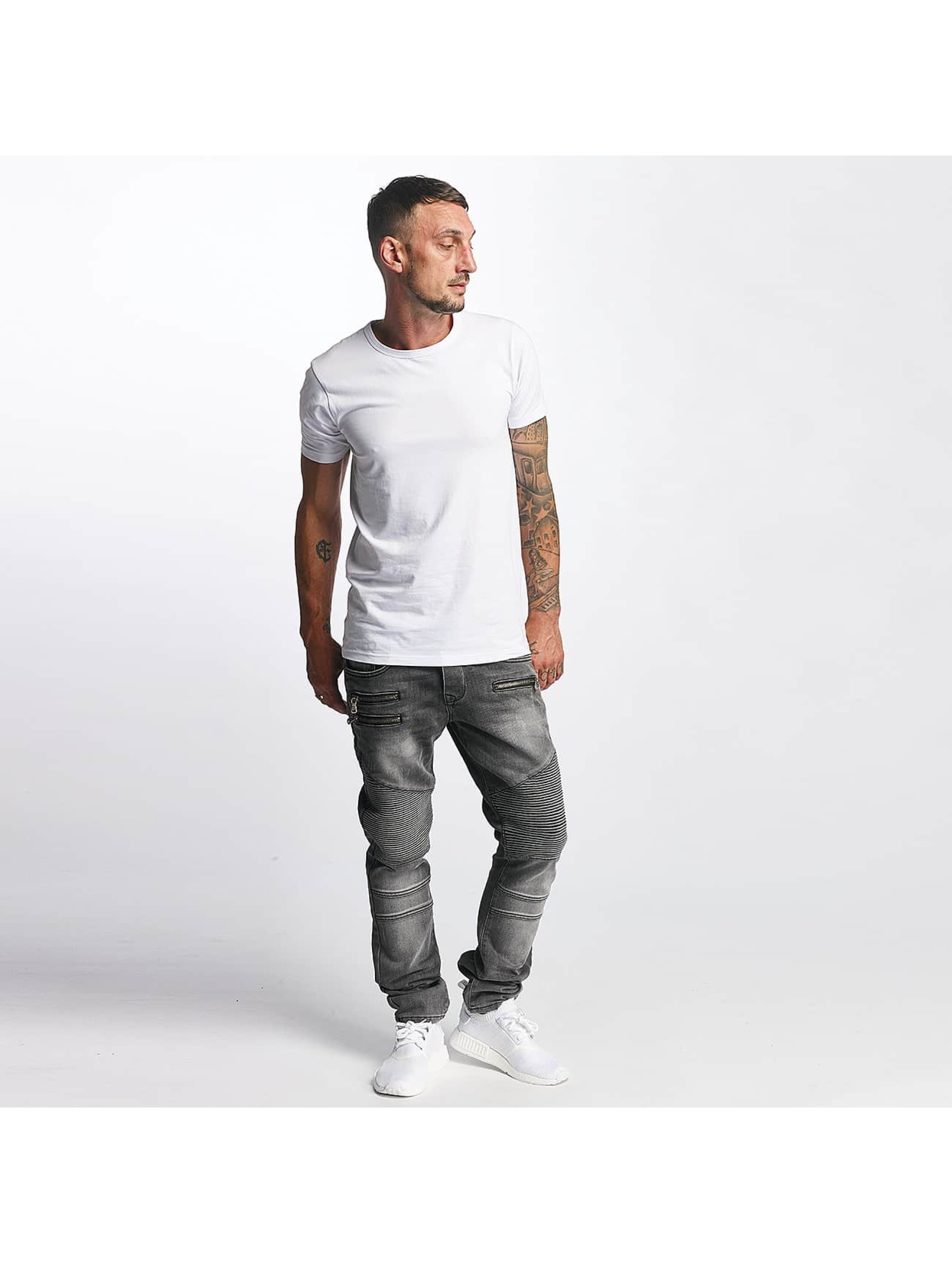 DEF Straight fit jeans World grijs