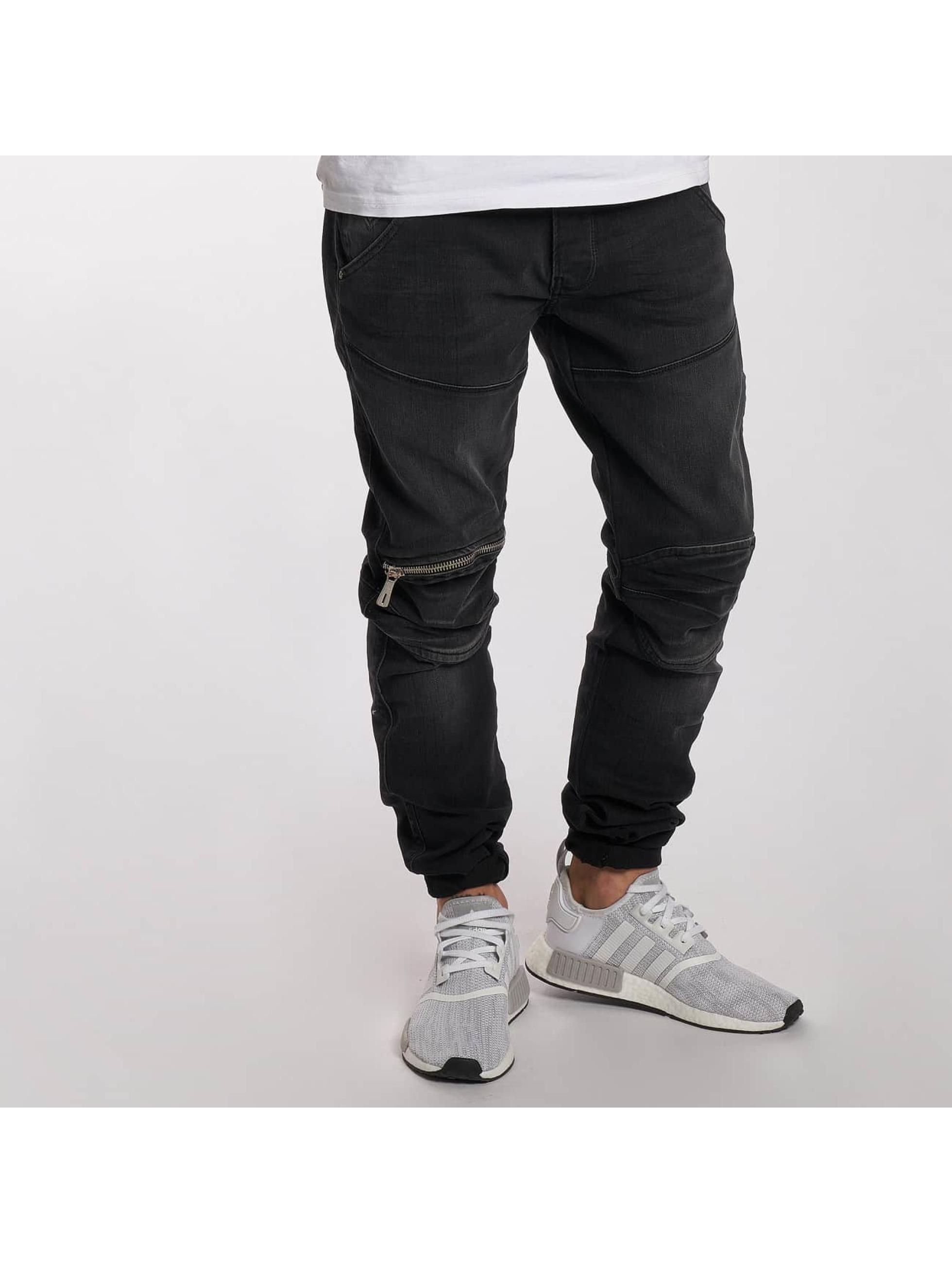 DEF Straight fit jeans London grijs