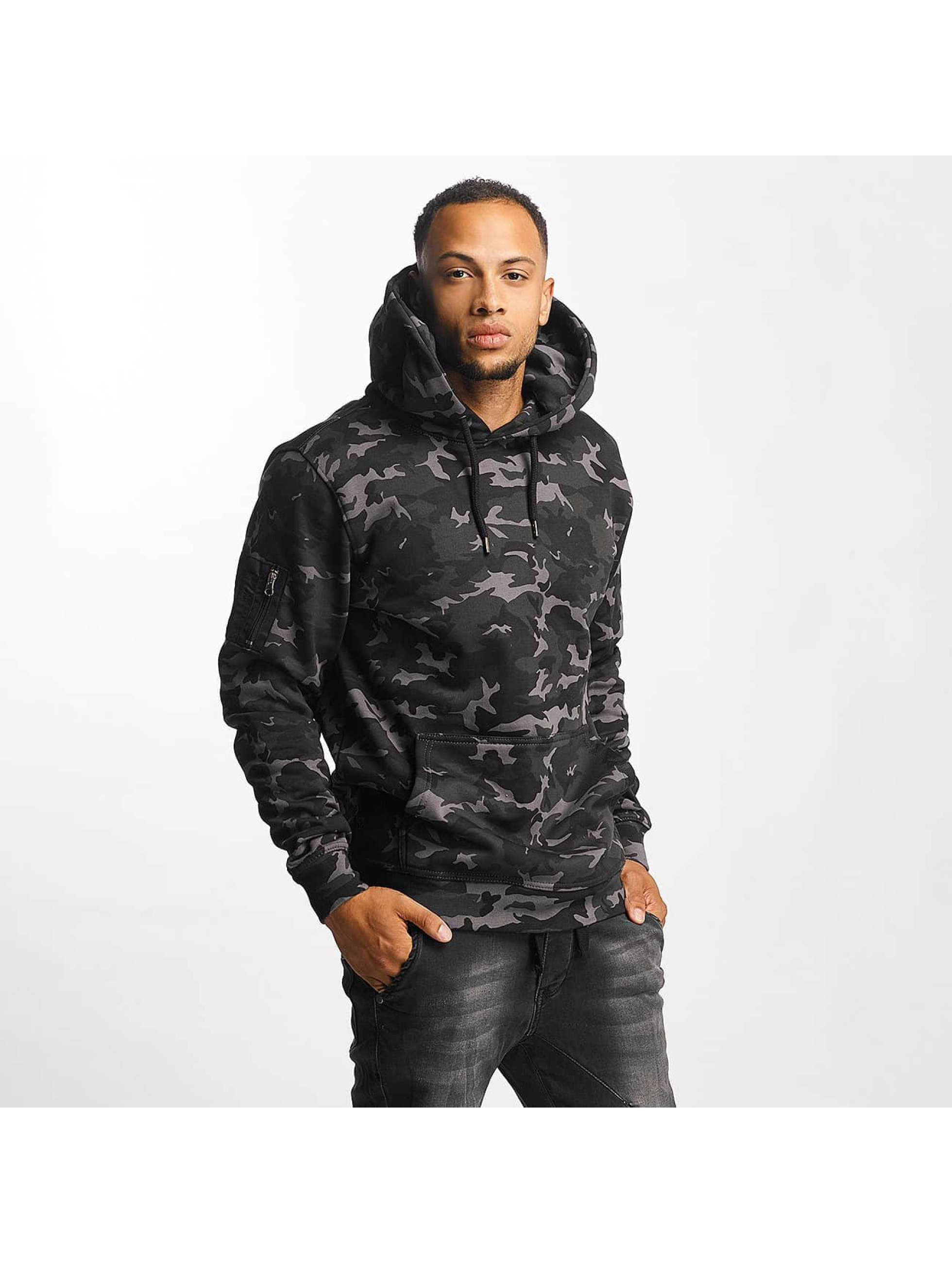 DEF Upper Arm Pocket camouflage Sweat capuche homme