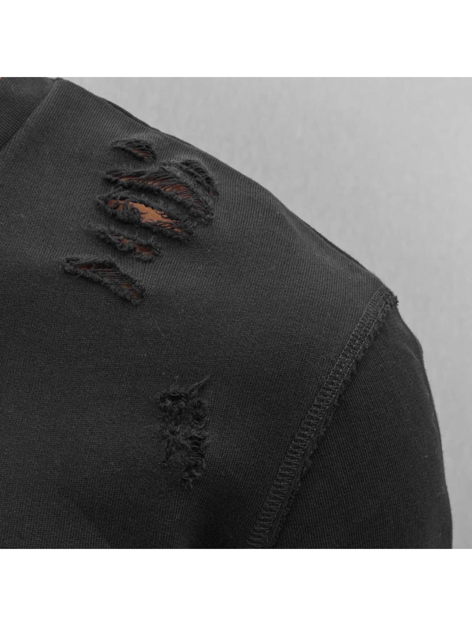 DEF Swetry Chaos czarny