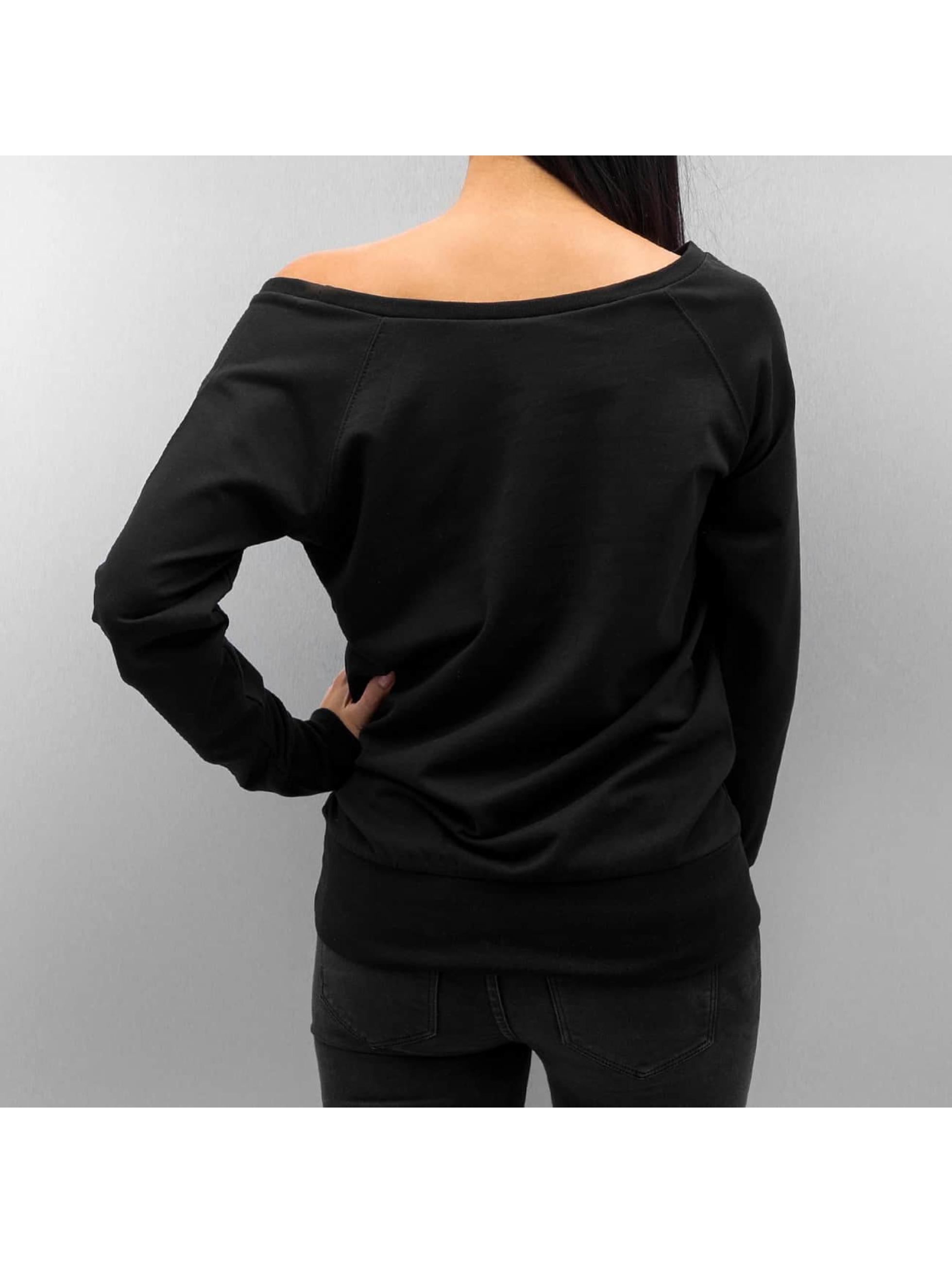 DEF Swetry Poppy czarny