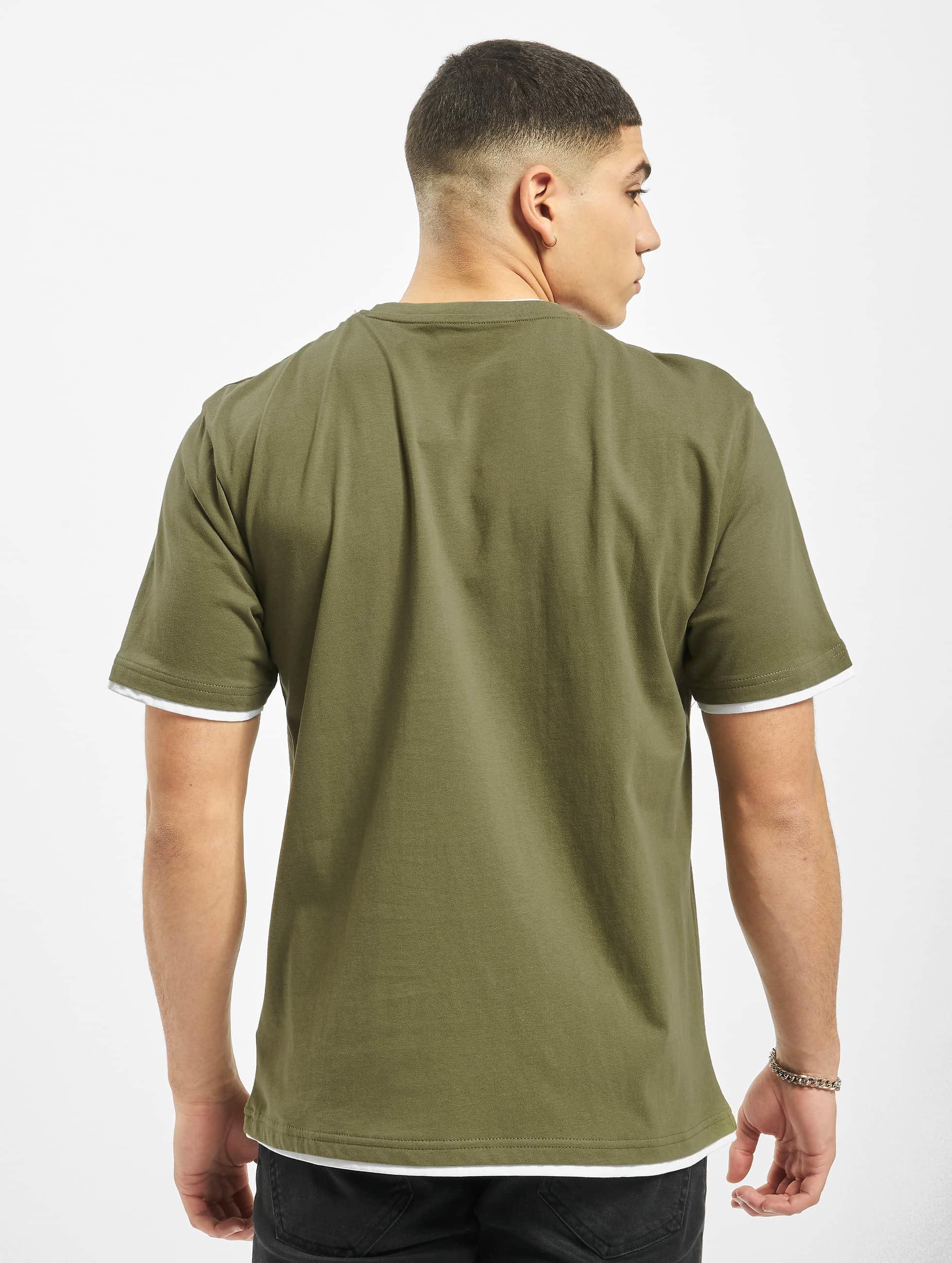 DEF T-paidat Basic oliivi
