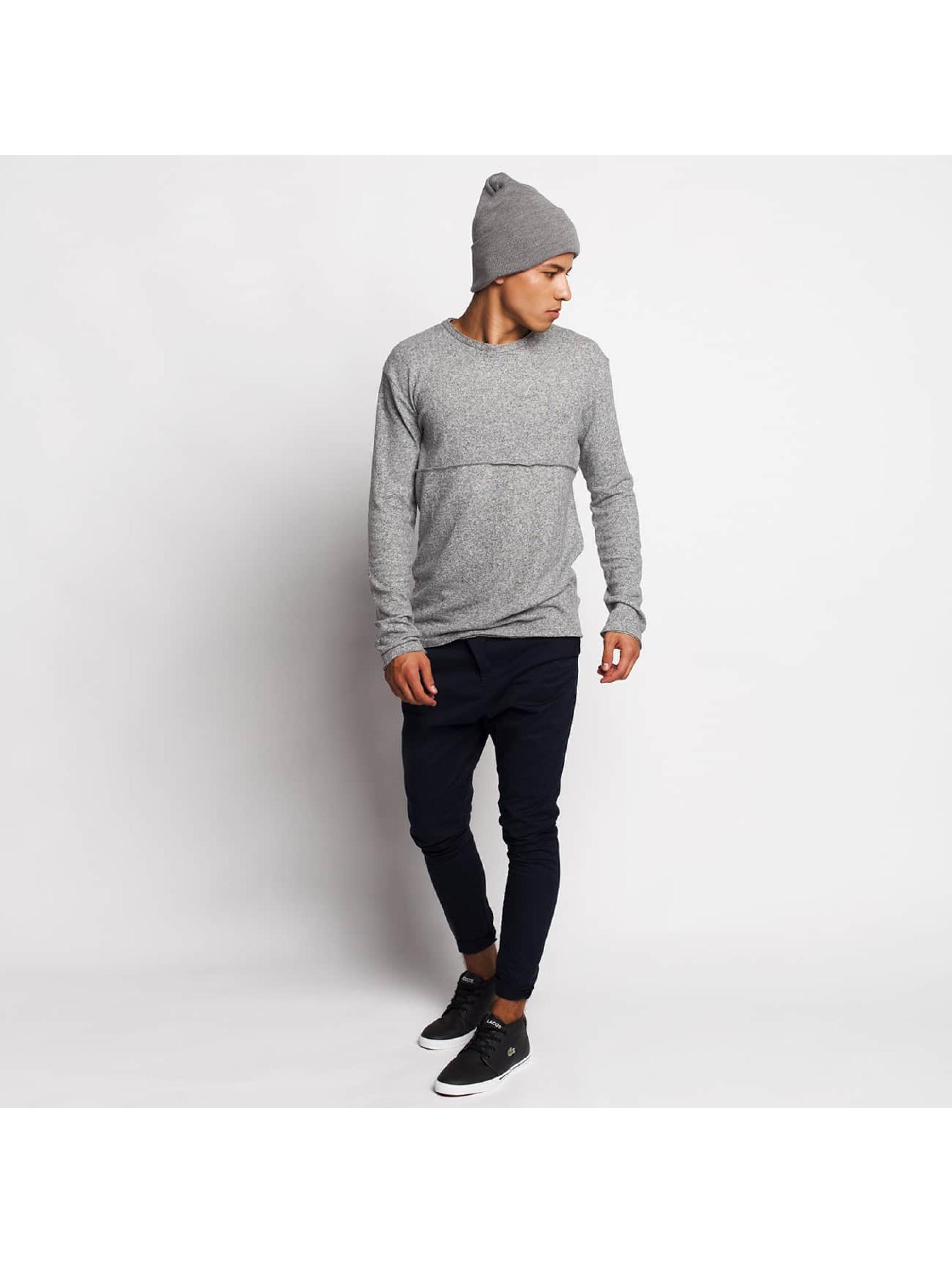 DEF T-Shirt manches longues Soft gris