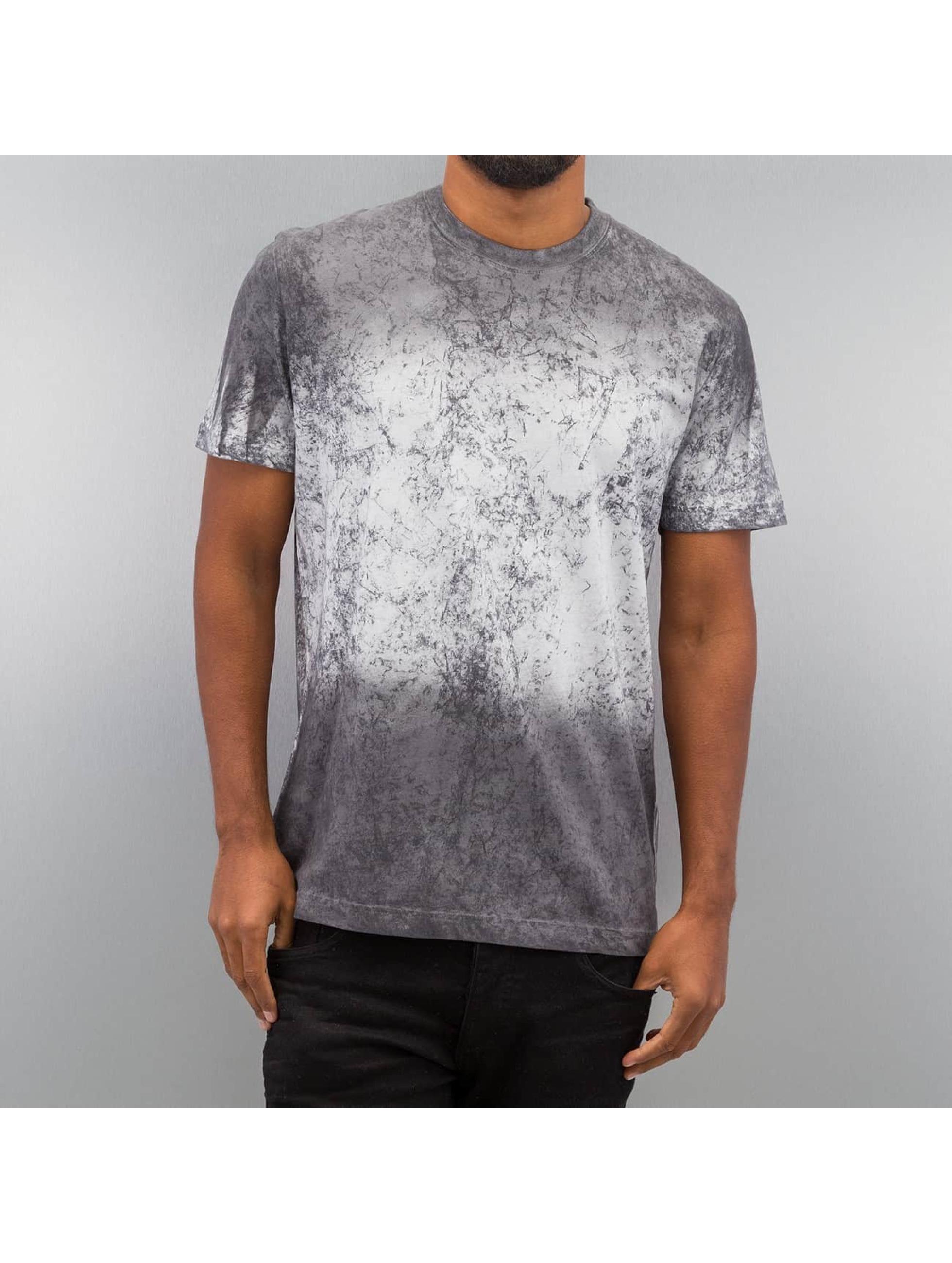 DEF T-Shirt Marble weiß