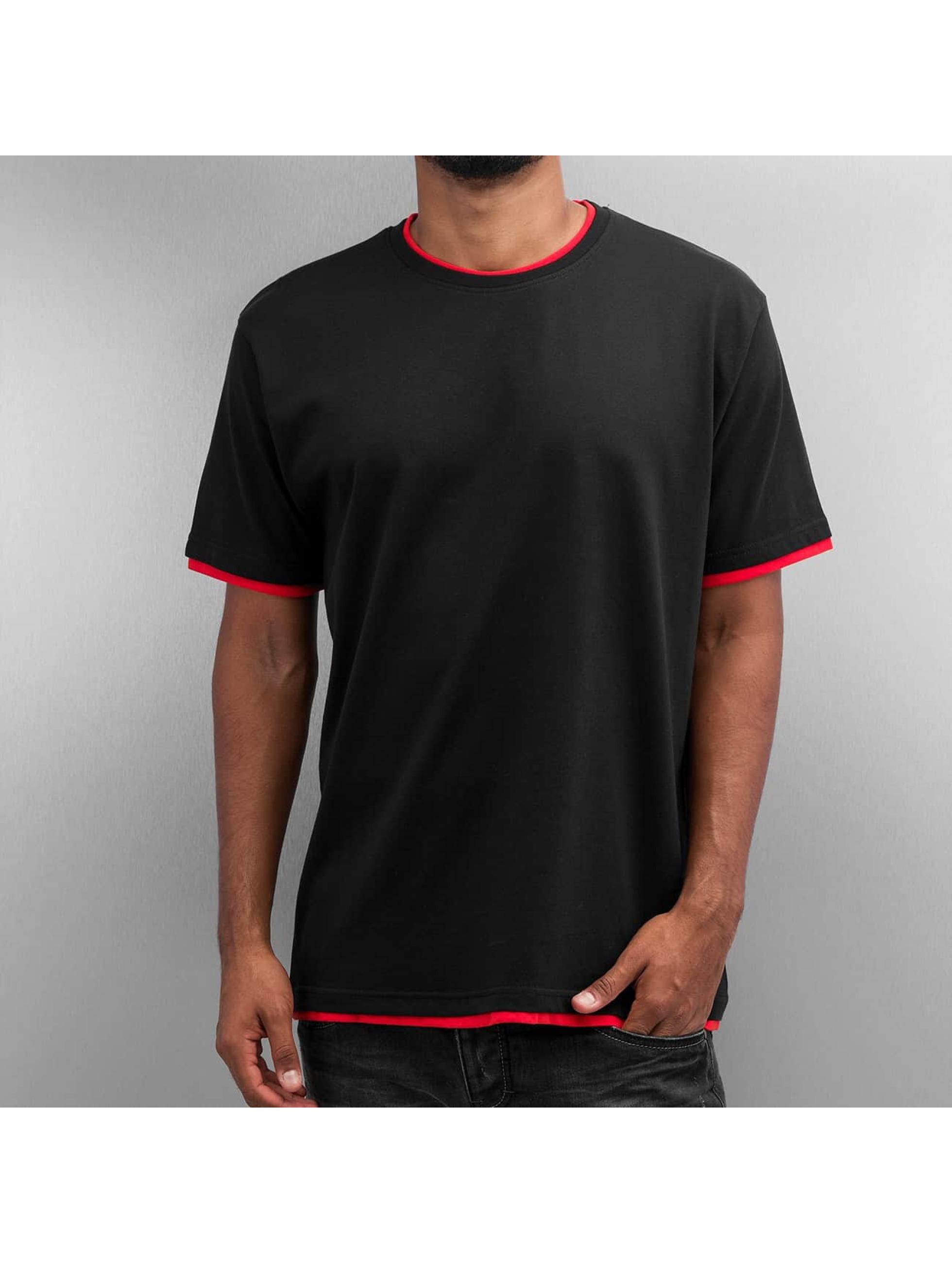 DEF T-Shirty Basic czarny