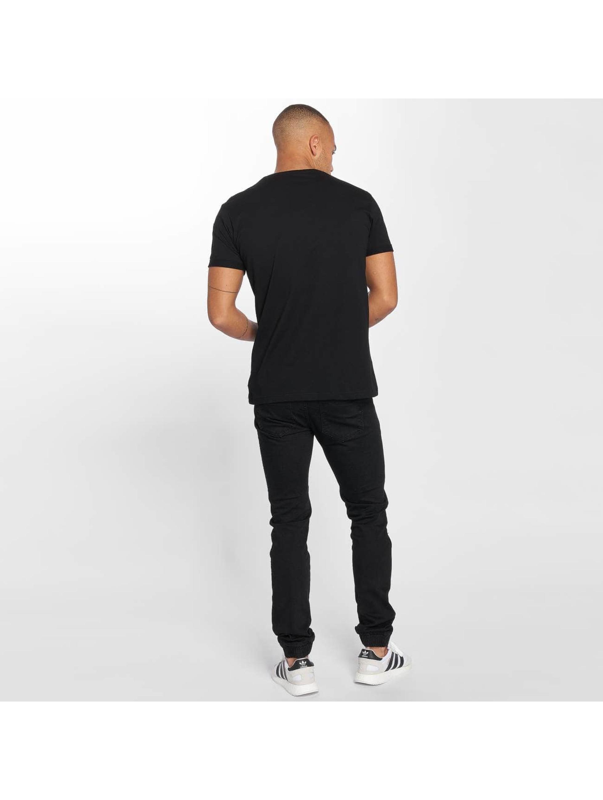 DEF T-Shirty Raffle czarny