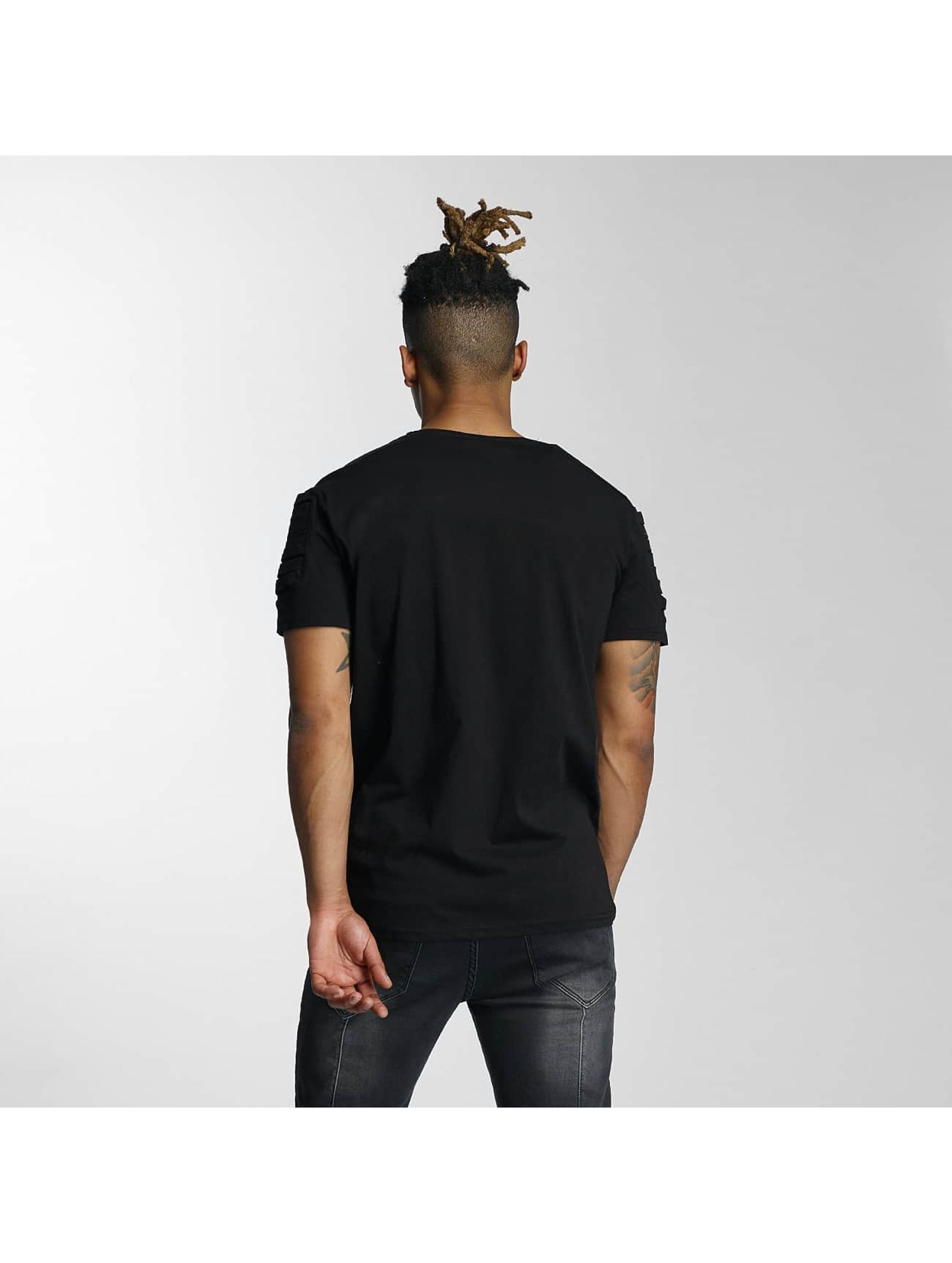DEF T-Shirty Leats czarny