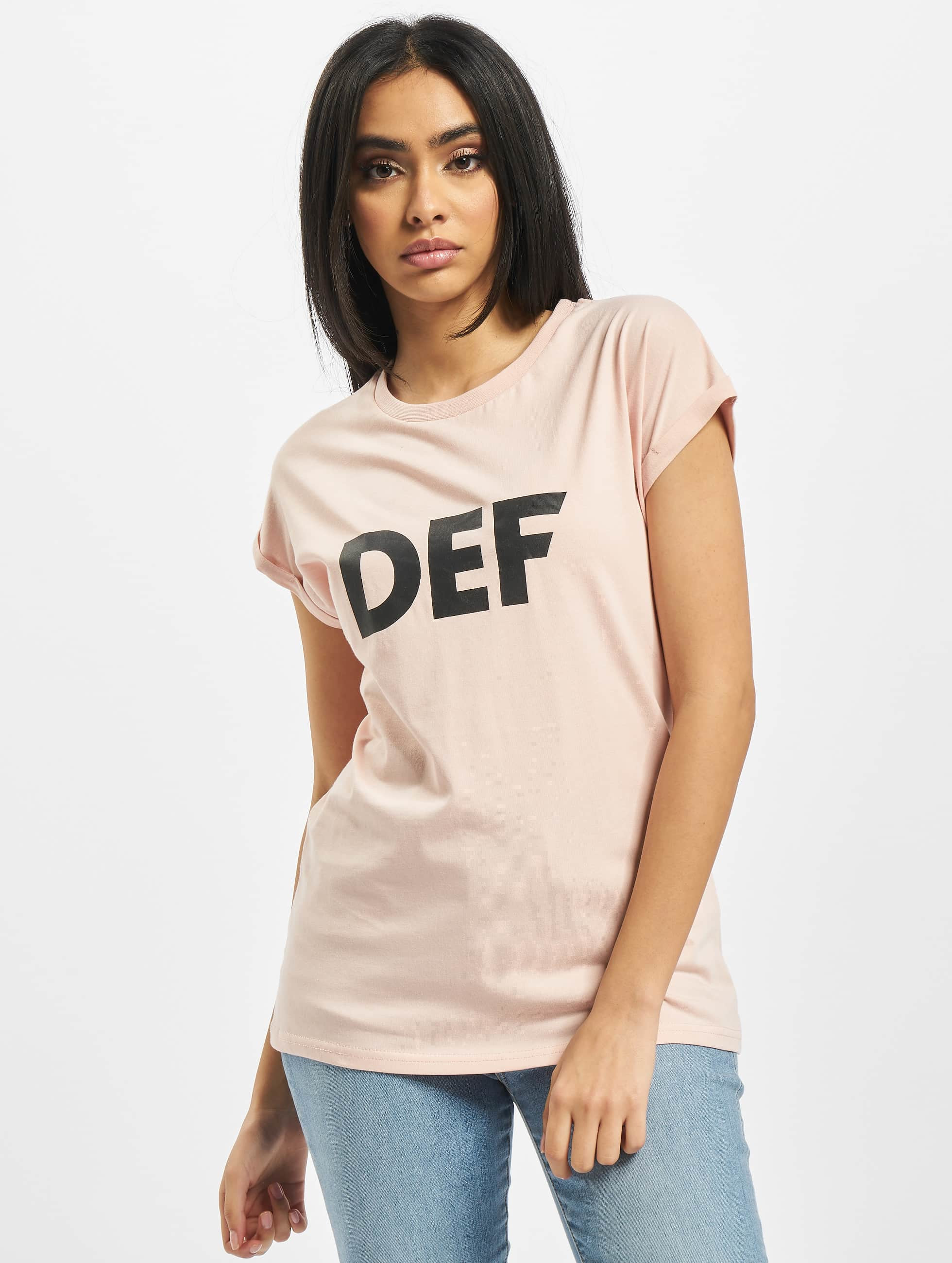 DEF T-Shirty Sizza rózowy