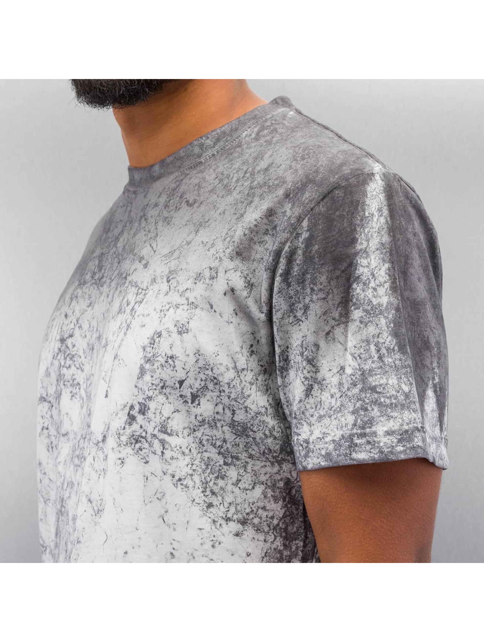 DEF T-skjorter Marble hvit