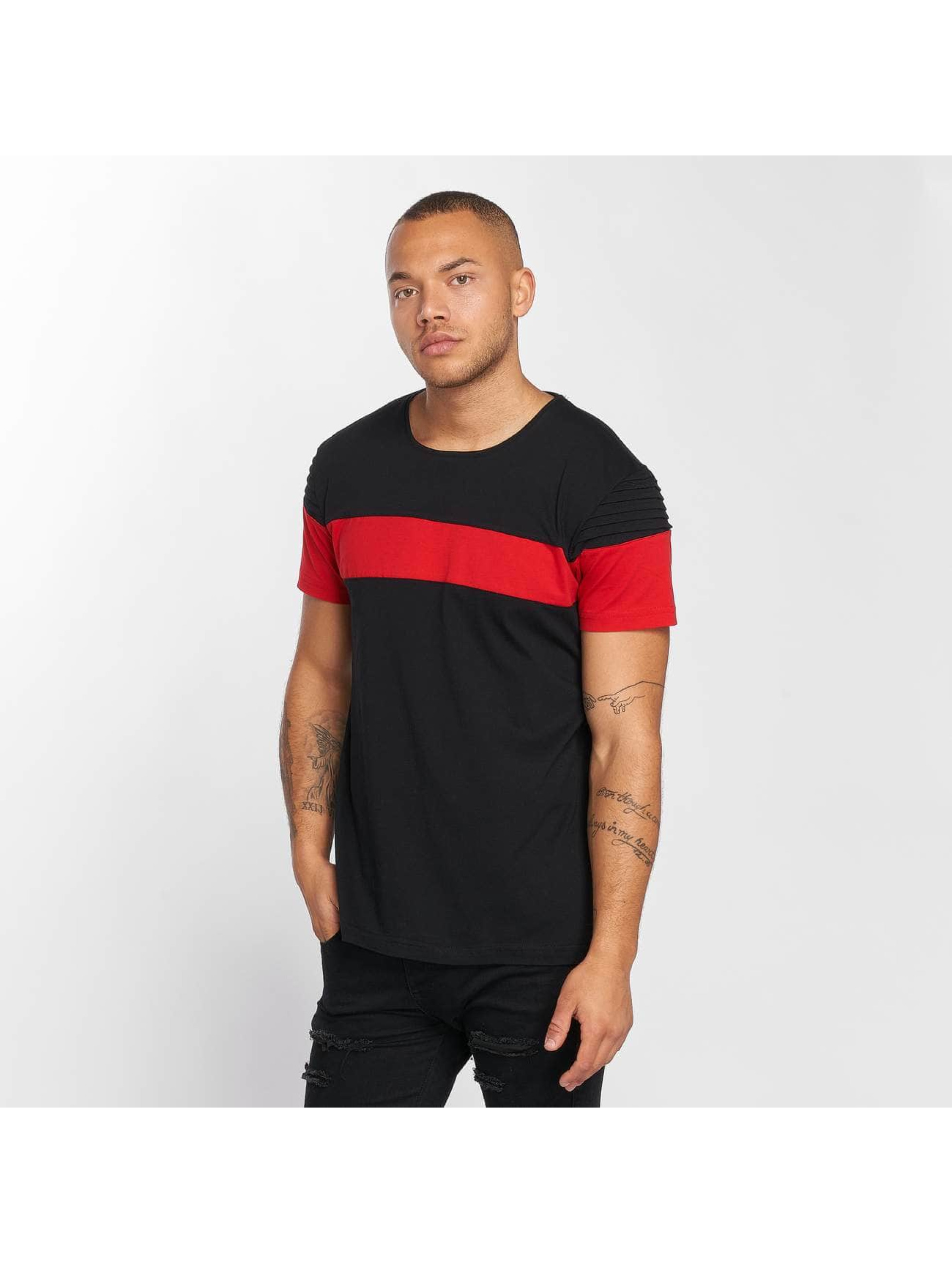 DEF T-skjorter Stripe svart