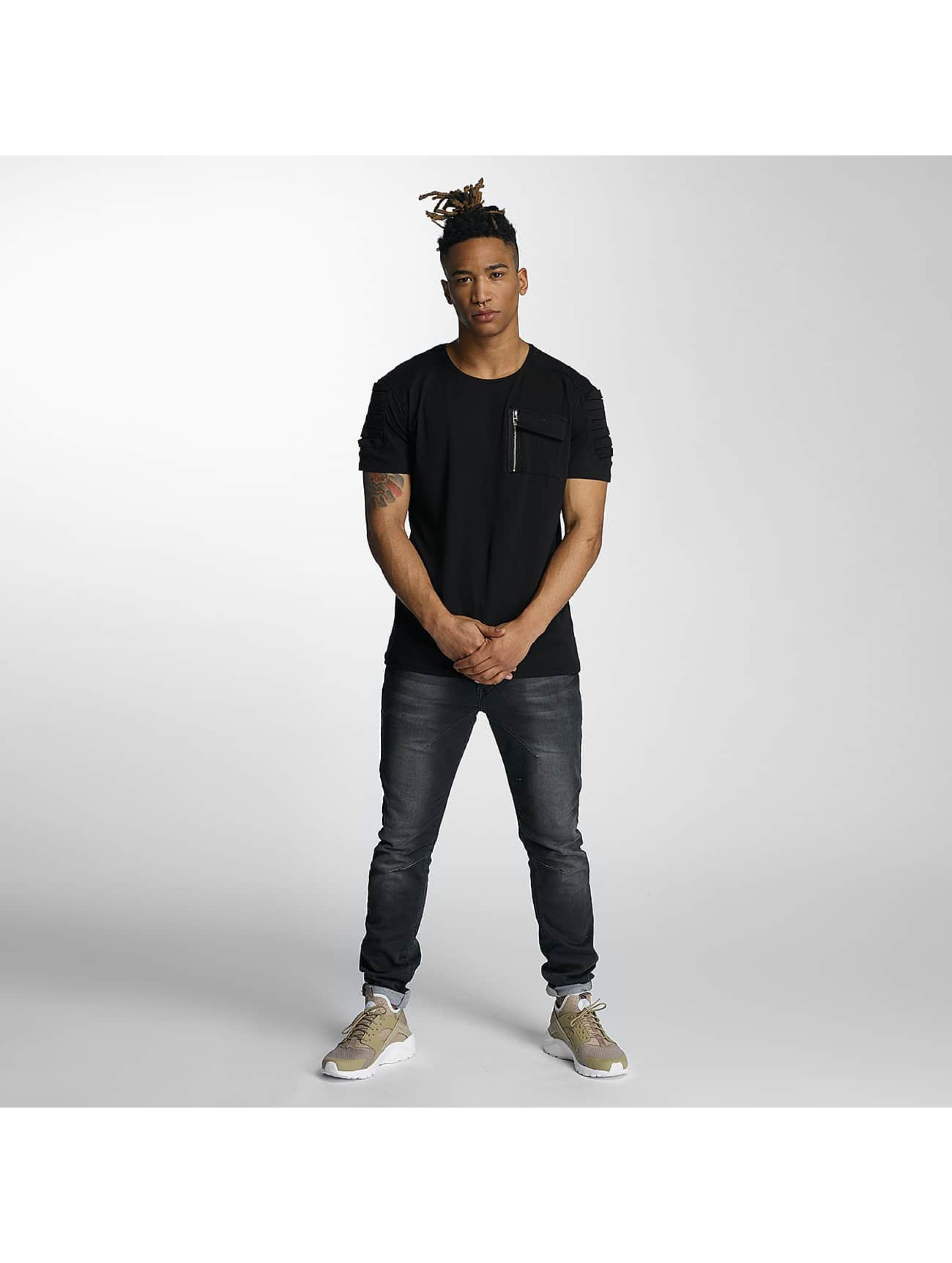 DEF T-skjorter Leats svart