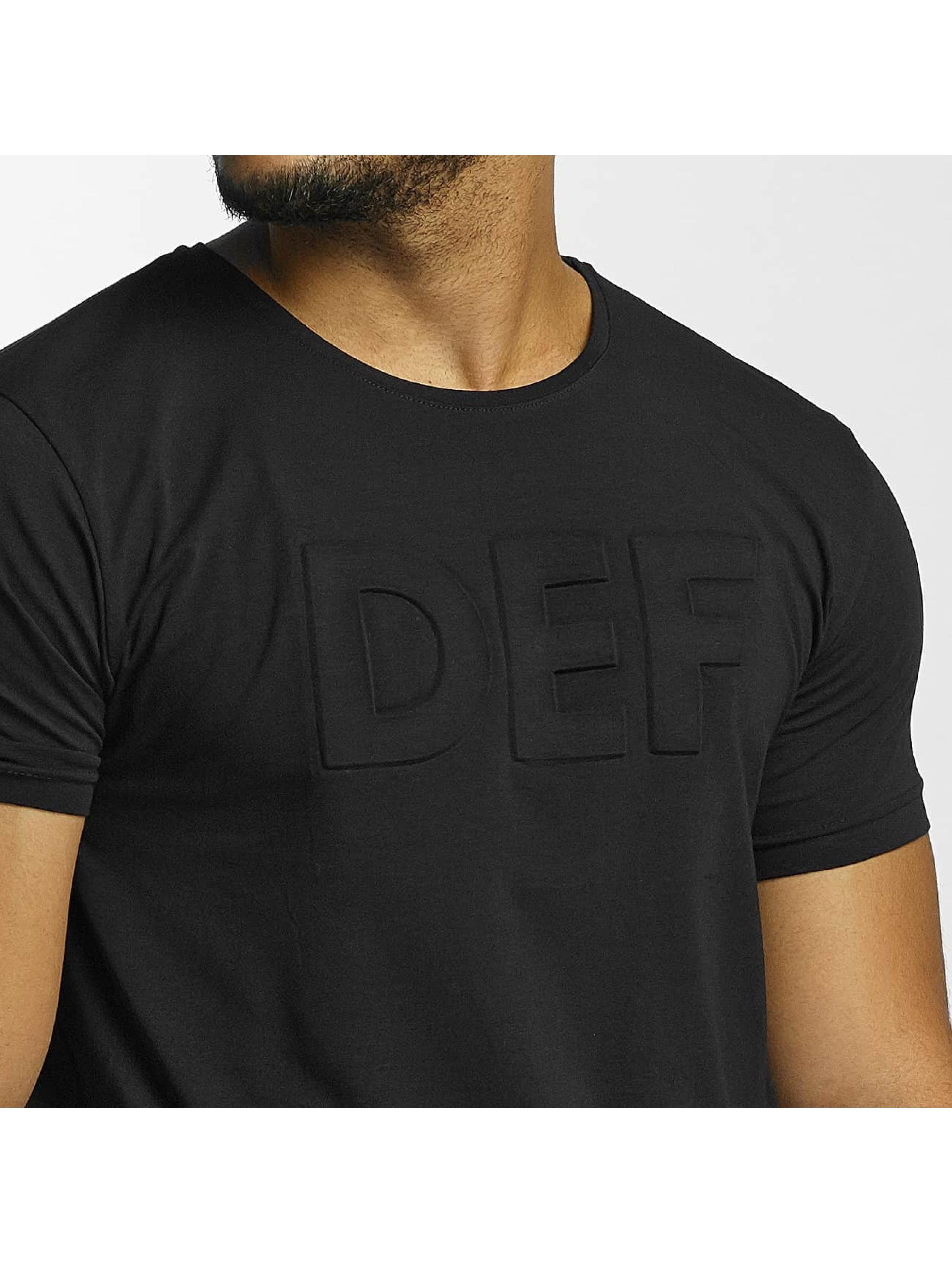 DEF T-skjorter Come Out svart