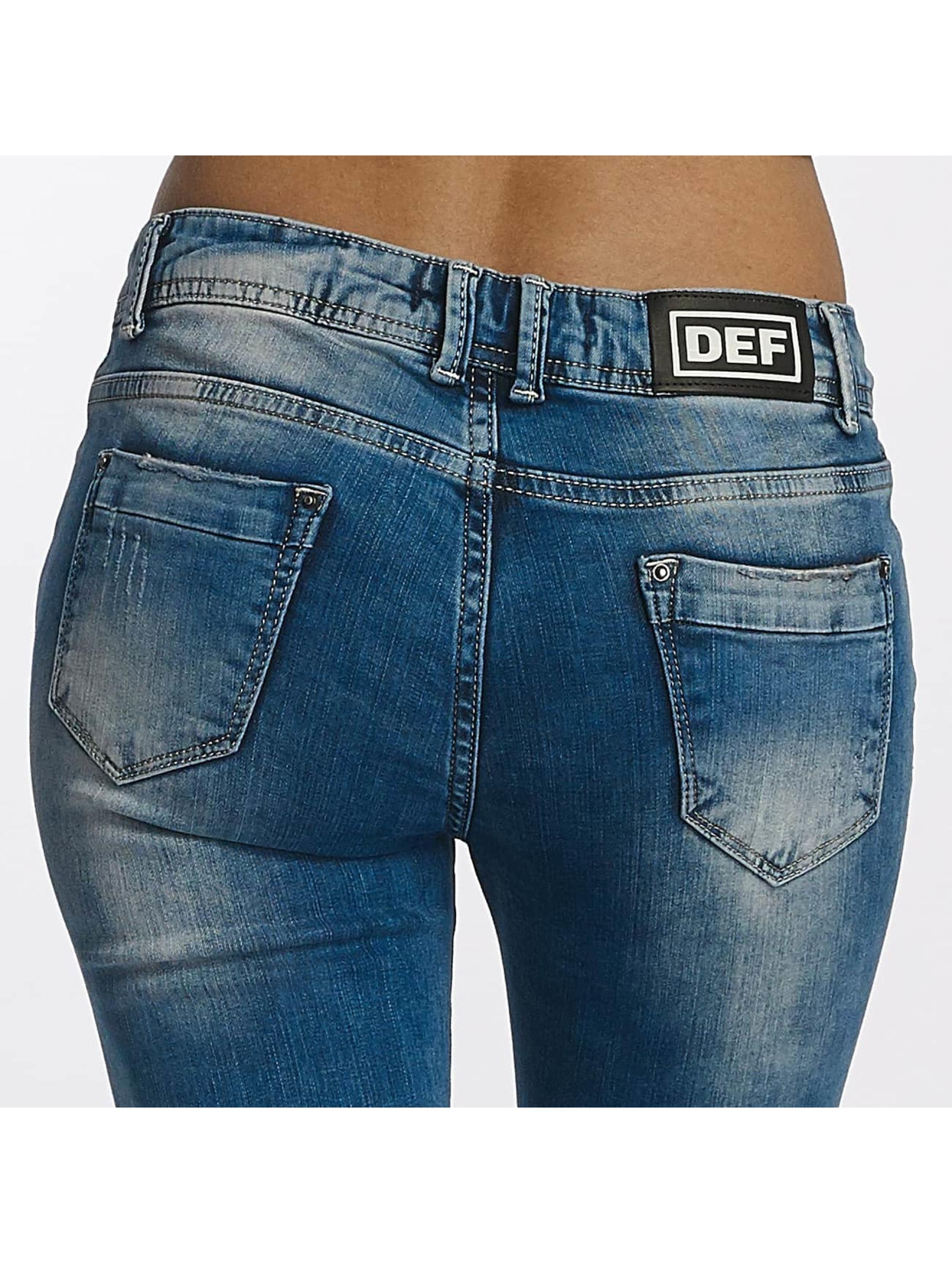 DEF Tynne bukser Used blå